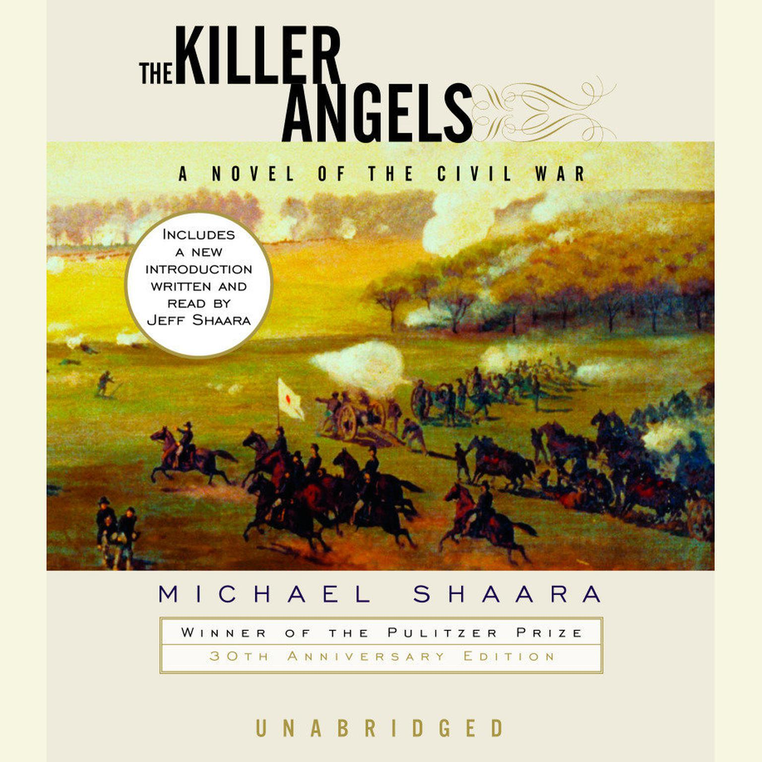 Printable The Killer Angels: The Classic Novel of the Civil War Audiobook Cover Art
