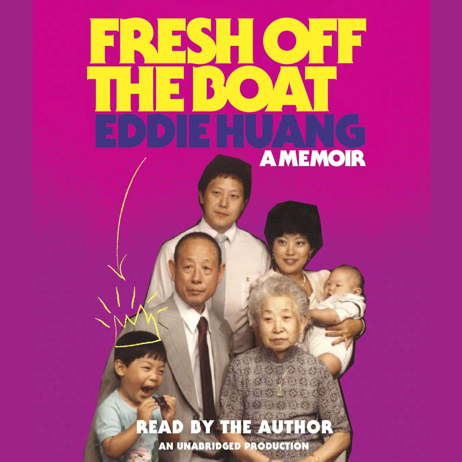 Printable Fresh Off the Boat: A Memoir Audiobook Cover Art
