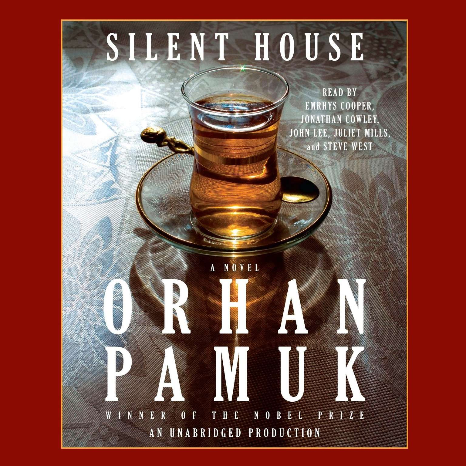 Printable Silent House Audiobook Cover Art