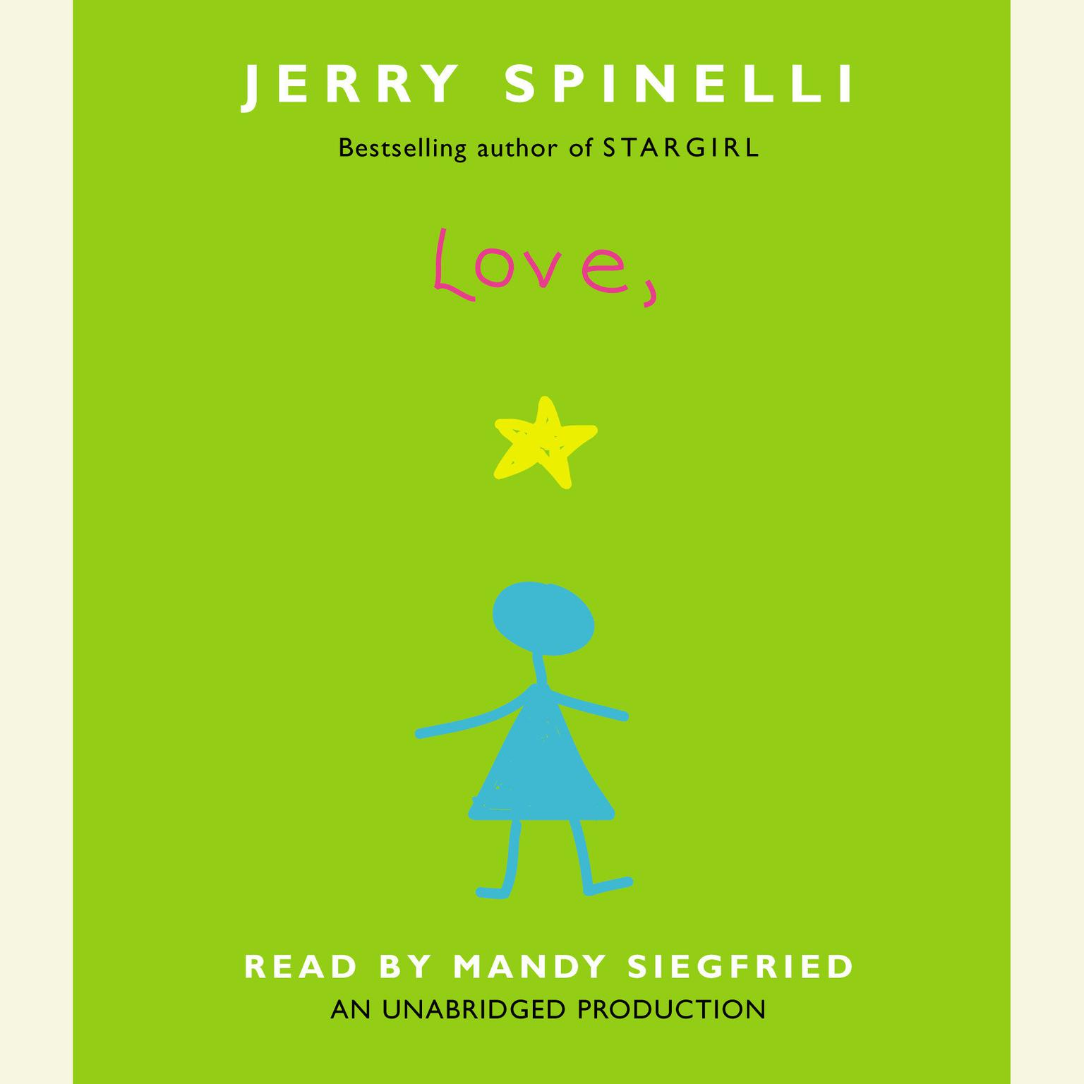 Printable Love, Stargirl Audiobook Cover Art
