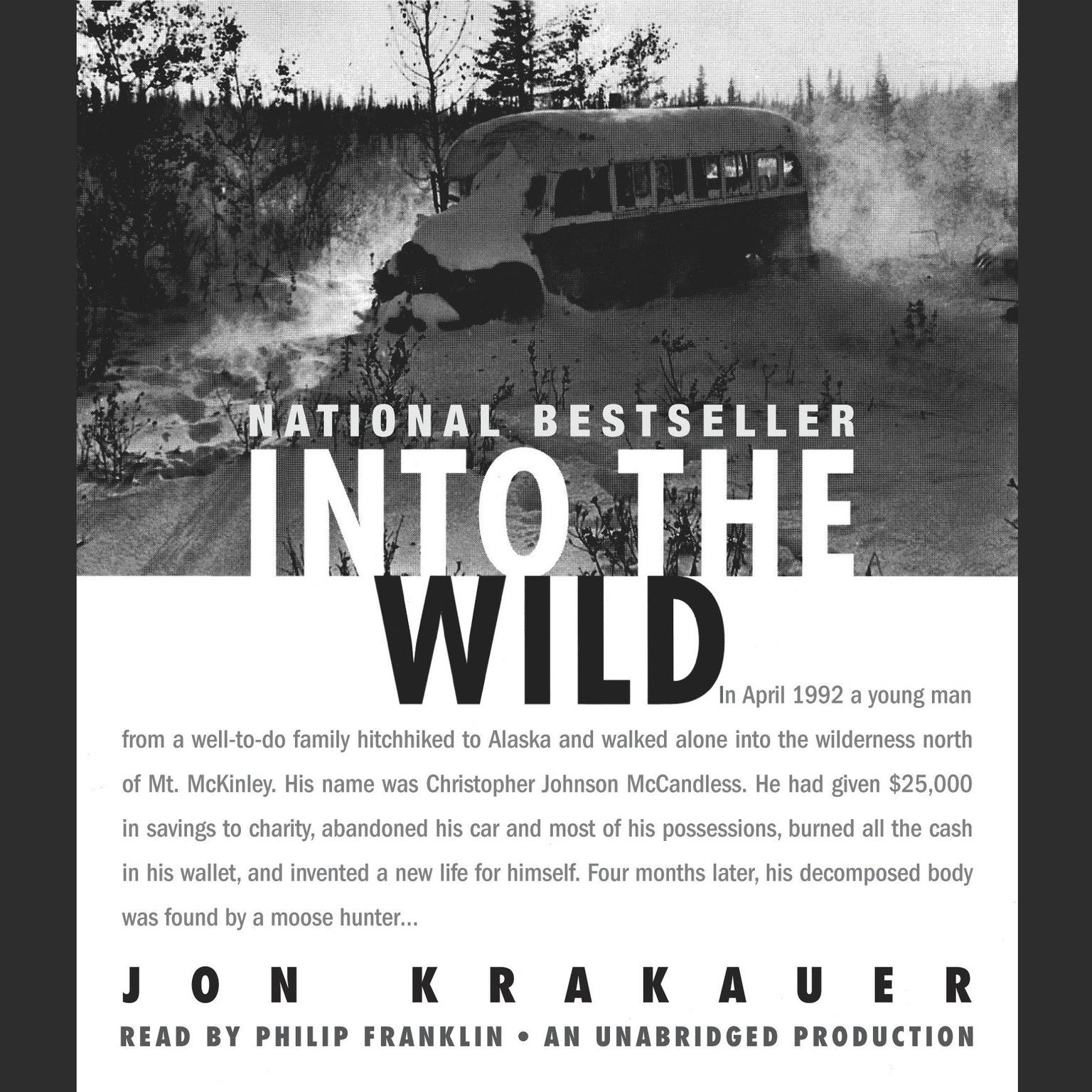 Printable Into the Wild Audiobook Cover Art