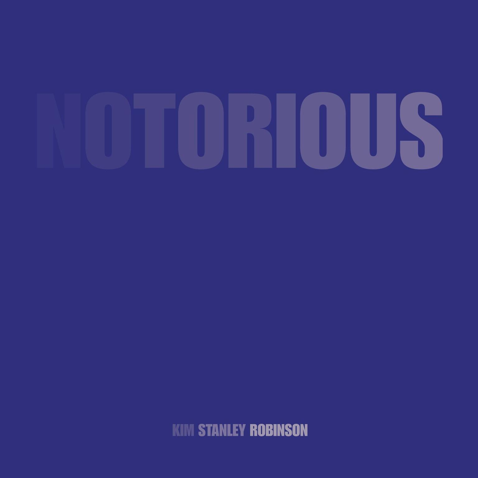 Printable Notorious Audiobook Cover Art
