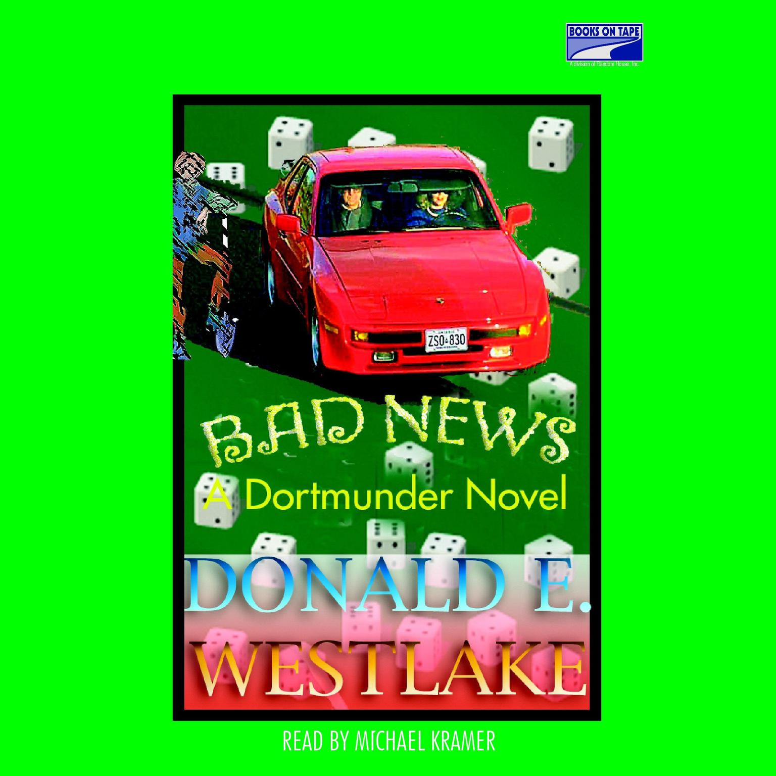 Printable Bad News Audiobook Cover Art