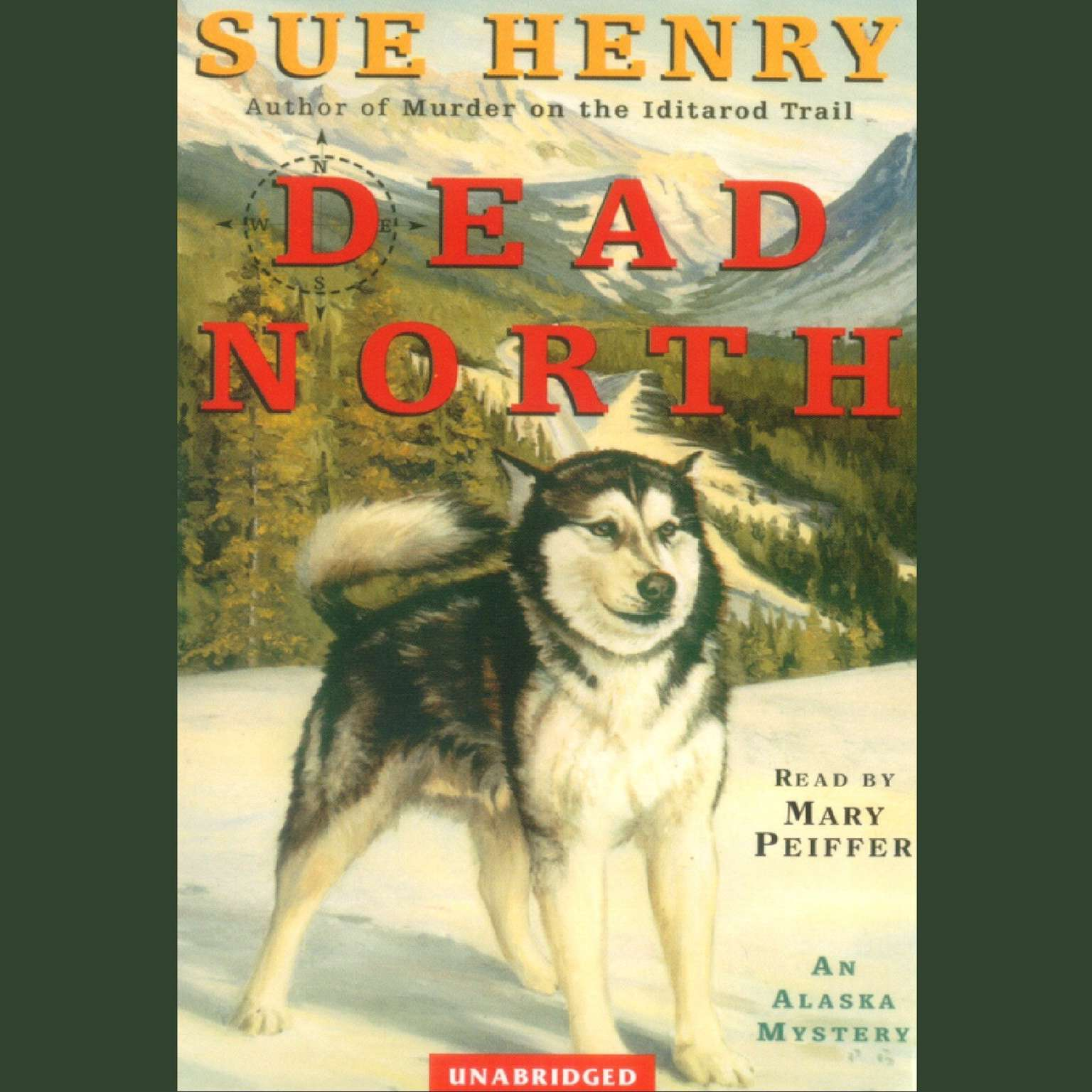 Printable Dead North Audiobook Cover Art