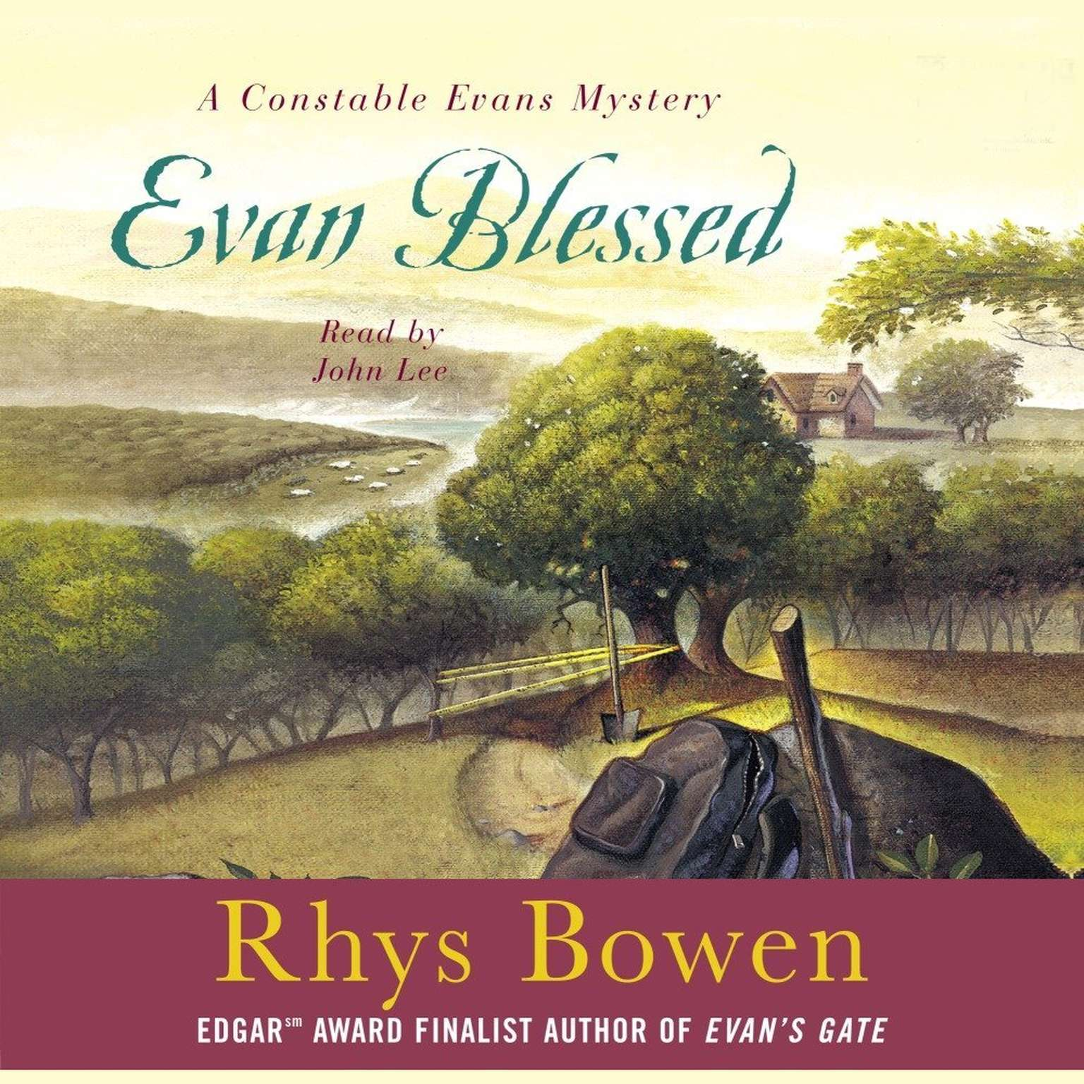 Printable Evan Blessed Audiobook Cover Art