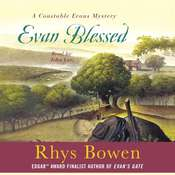 Evan Blessed Audiobook, by Rhys Bowen