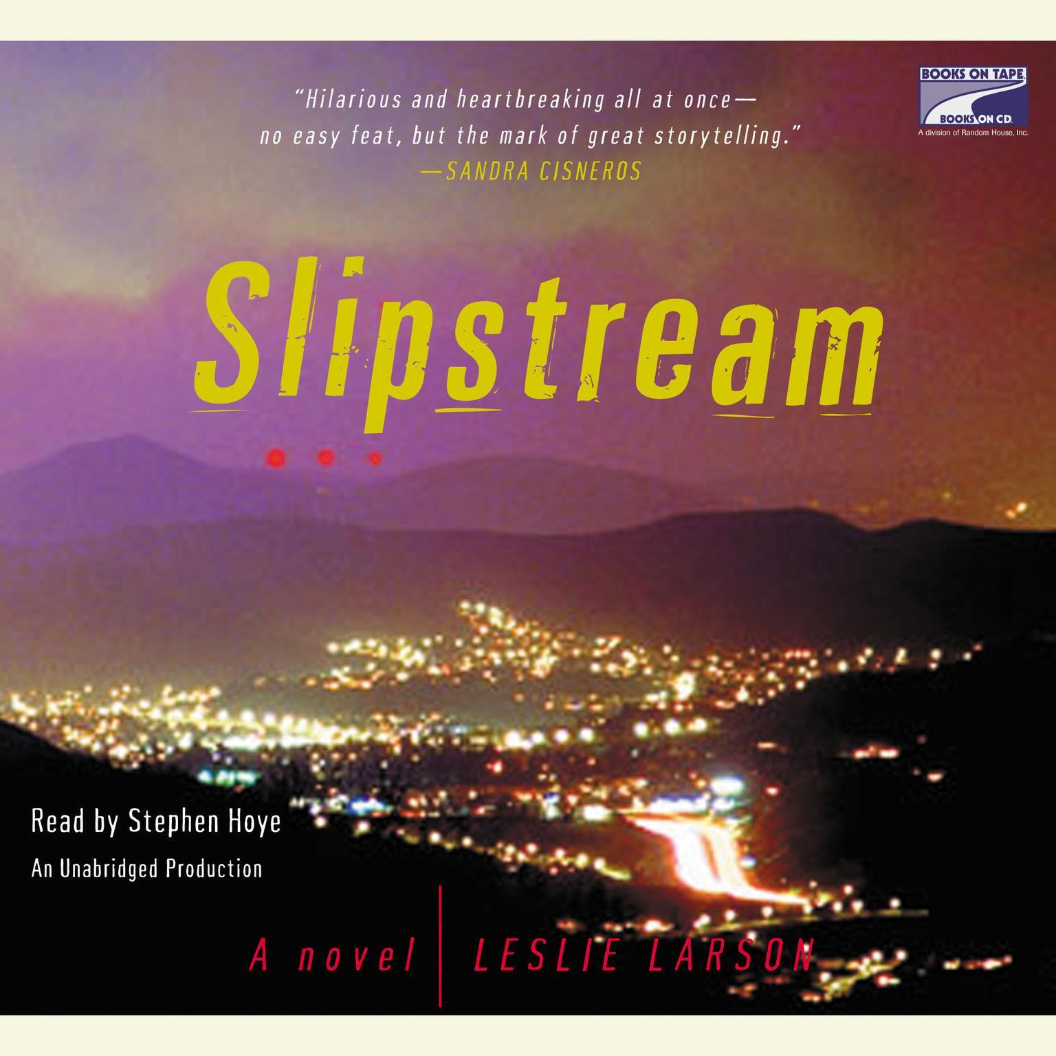 Printable Slipstream: A Novel Audiobook Cover Art