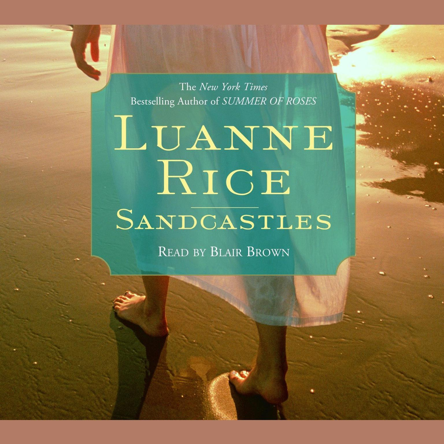Printable Sandcastles Audiobook Cover Art
