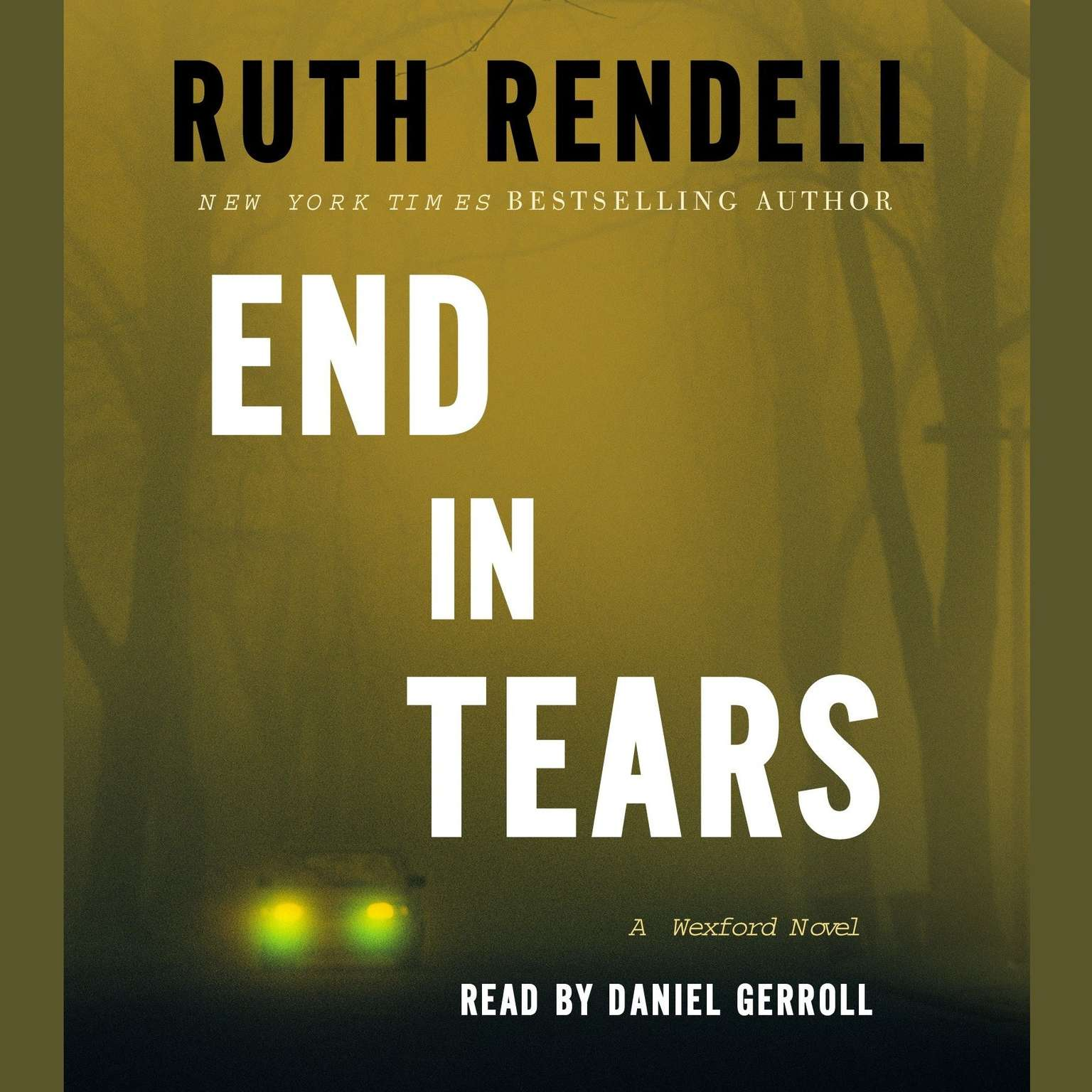 Printable End in Tears: A Wexford Novel Audiobook Cover Art
