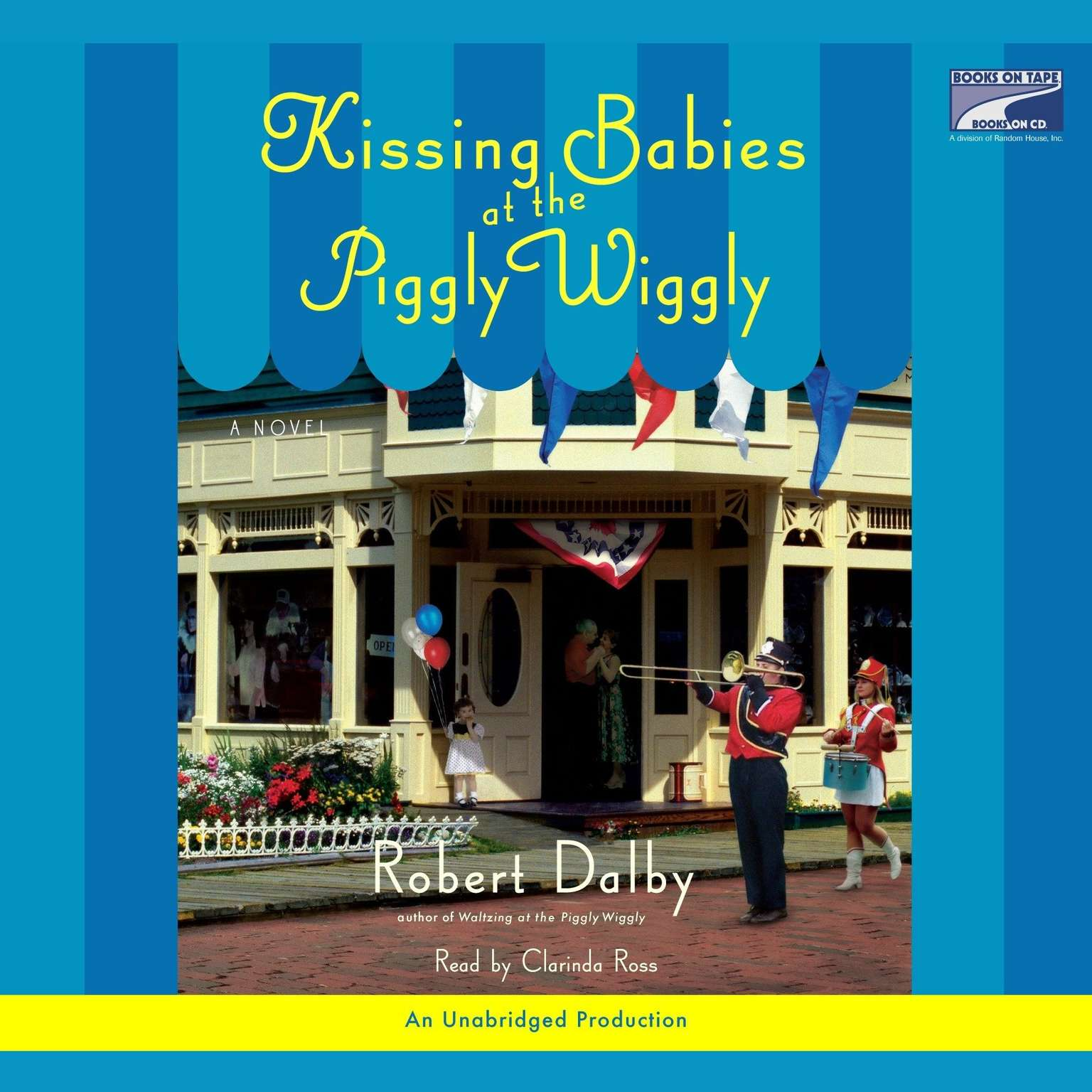 Printable Kissing Babies at the Piggly Wiggly Audiobook Cover Art