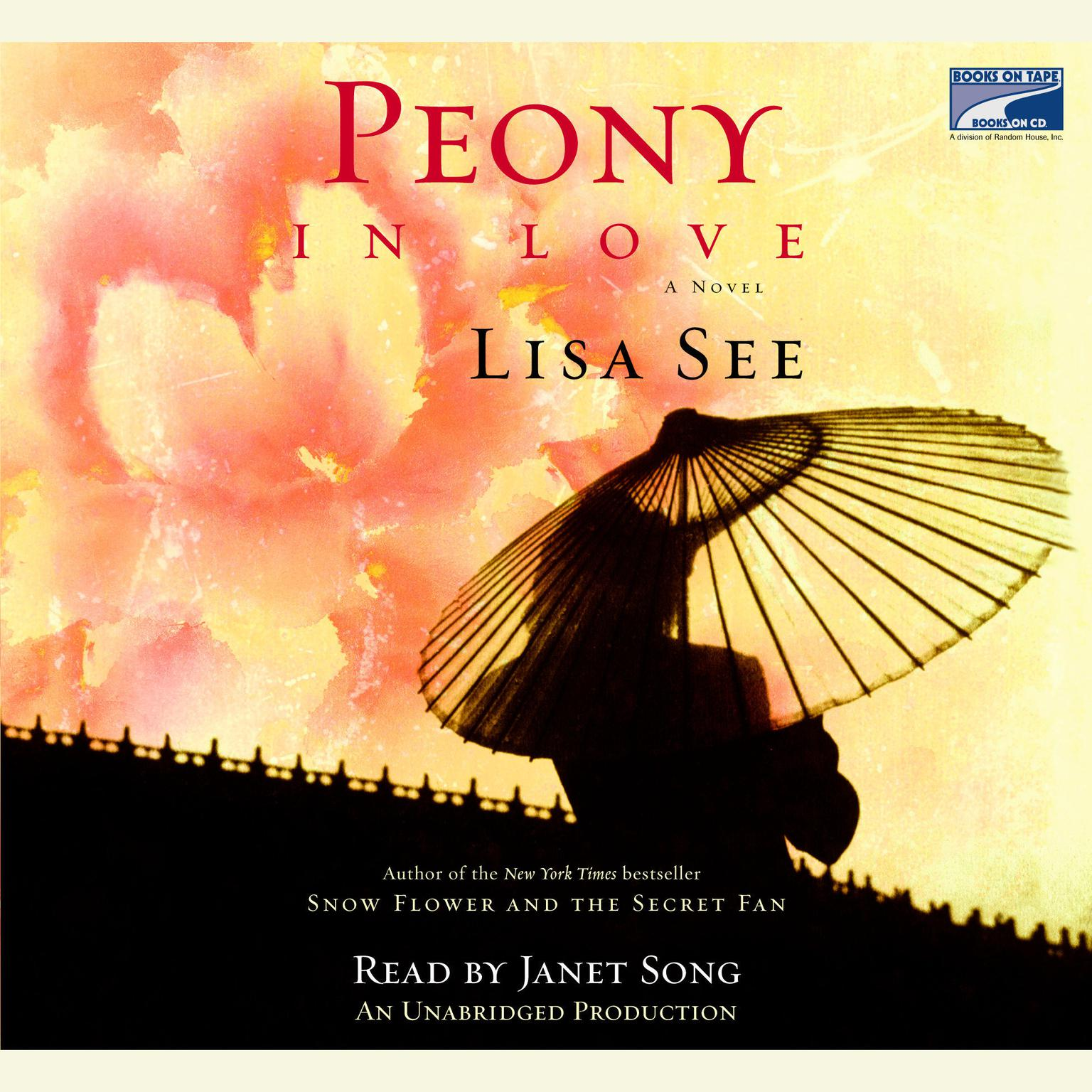 Printable Peony in Love Audiobook Cover Art