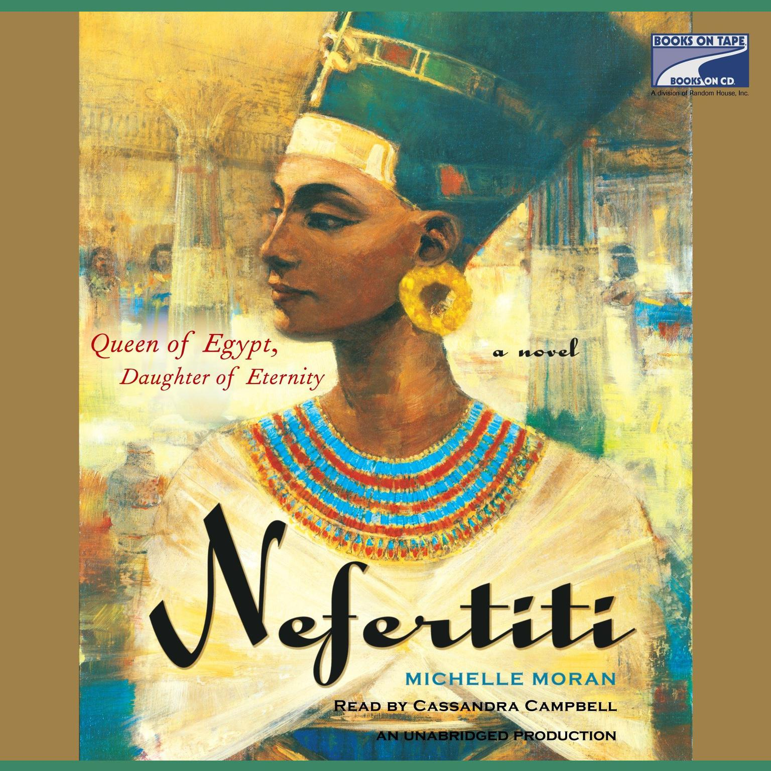 Printable Nefertiti: A Novel Audiobook Cover Art