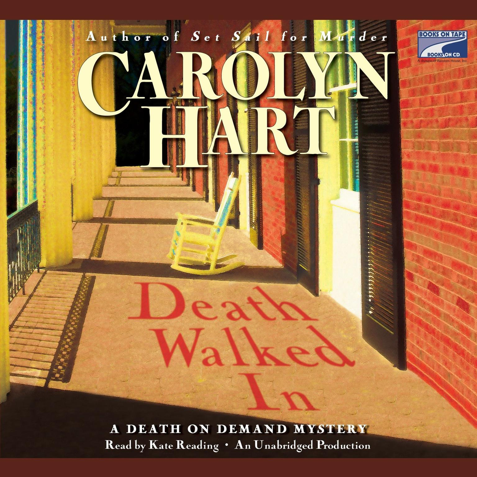 Printable Death Walked In Audiobook Cover Art
