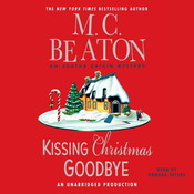 Kissing Christmas Goodbye Audiobook, by M. C. Beaton