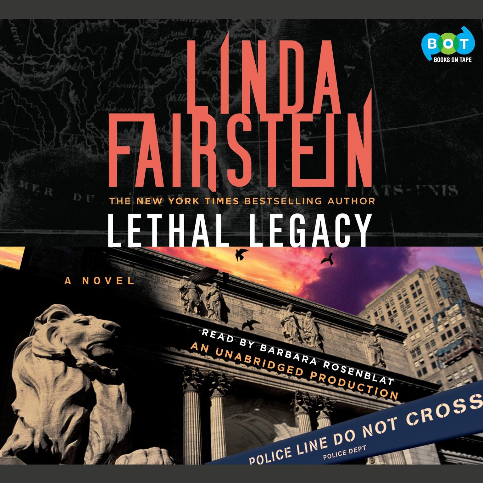 Printable Lethal Legacy: A Novel Audiobook Cover Art