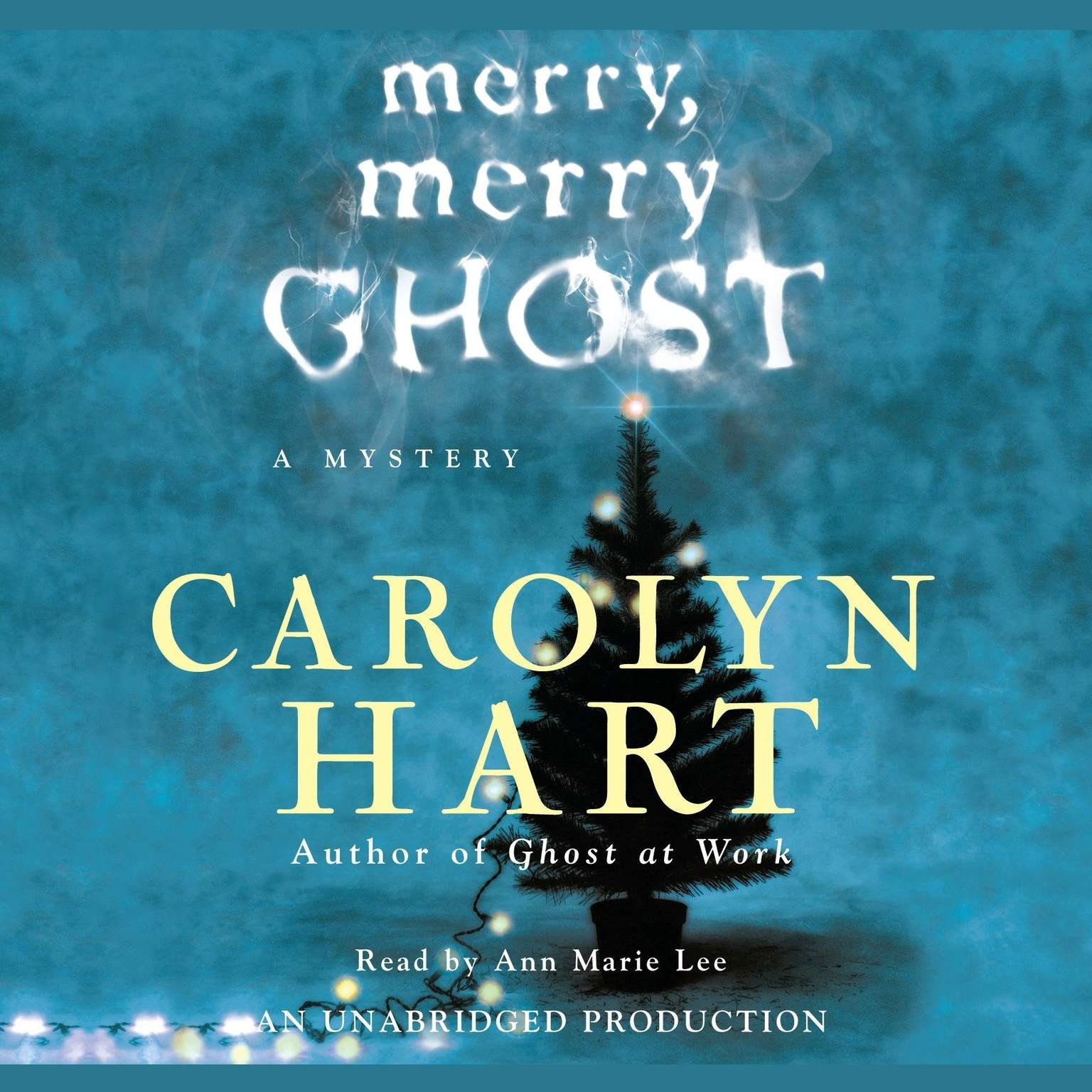 Printable Merry, Merry Ghost Audiobook Cover Art