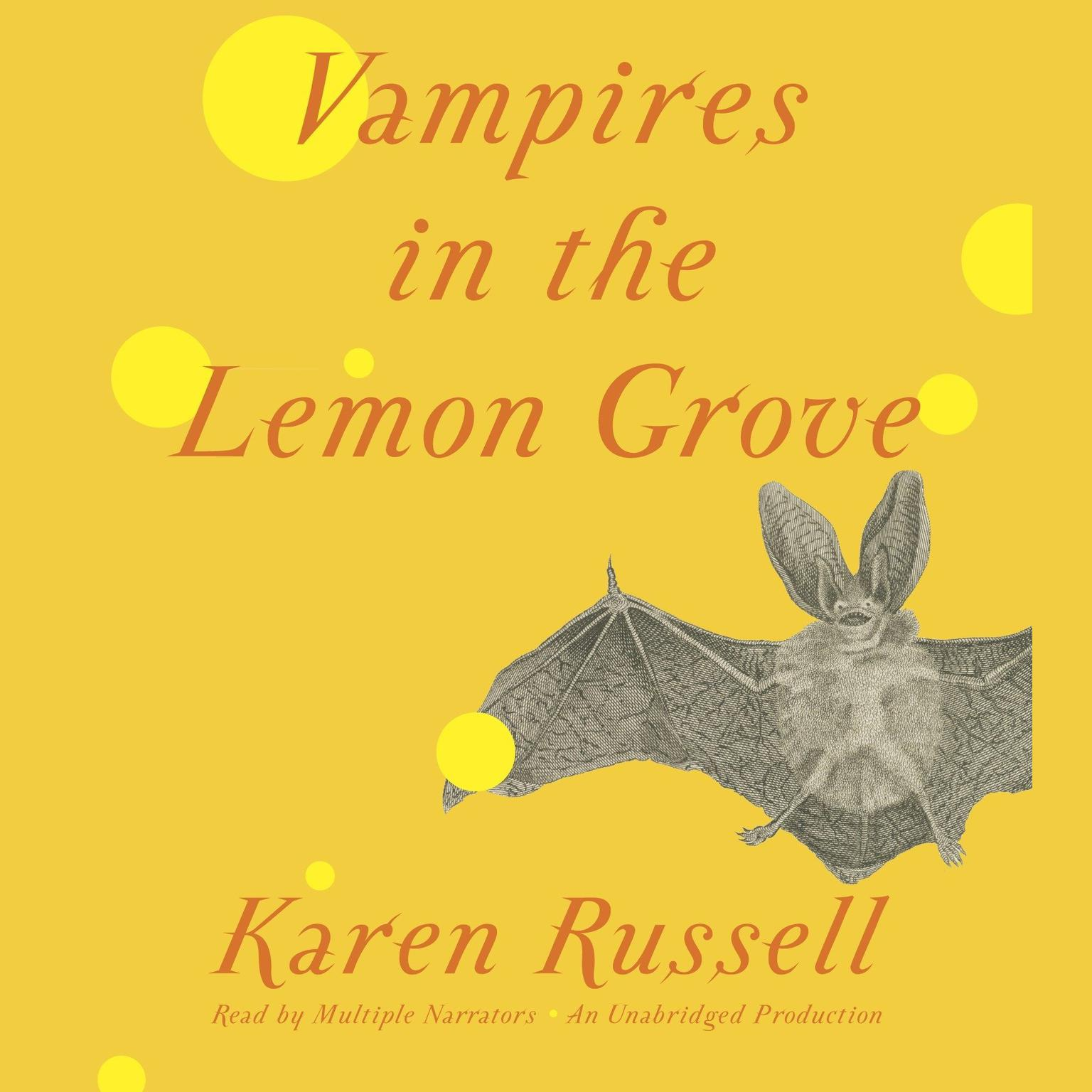 Printable Vampires in the Lemon Grove: Stories Audiobook Cover Art