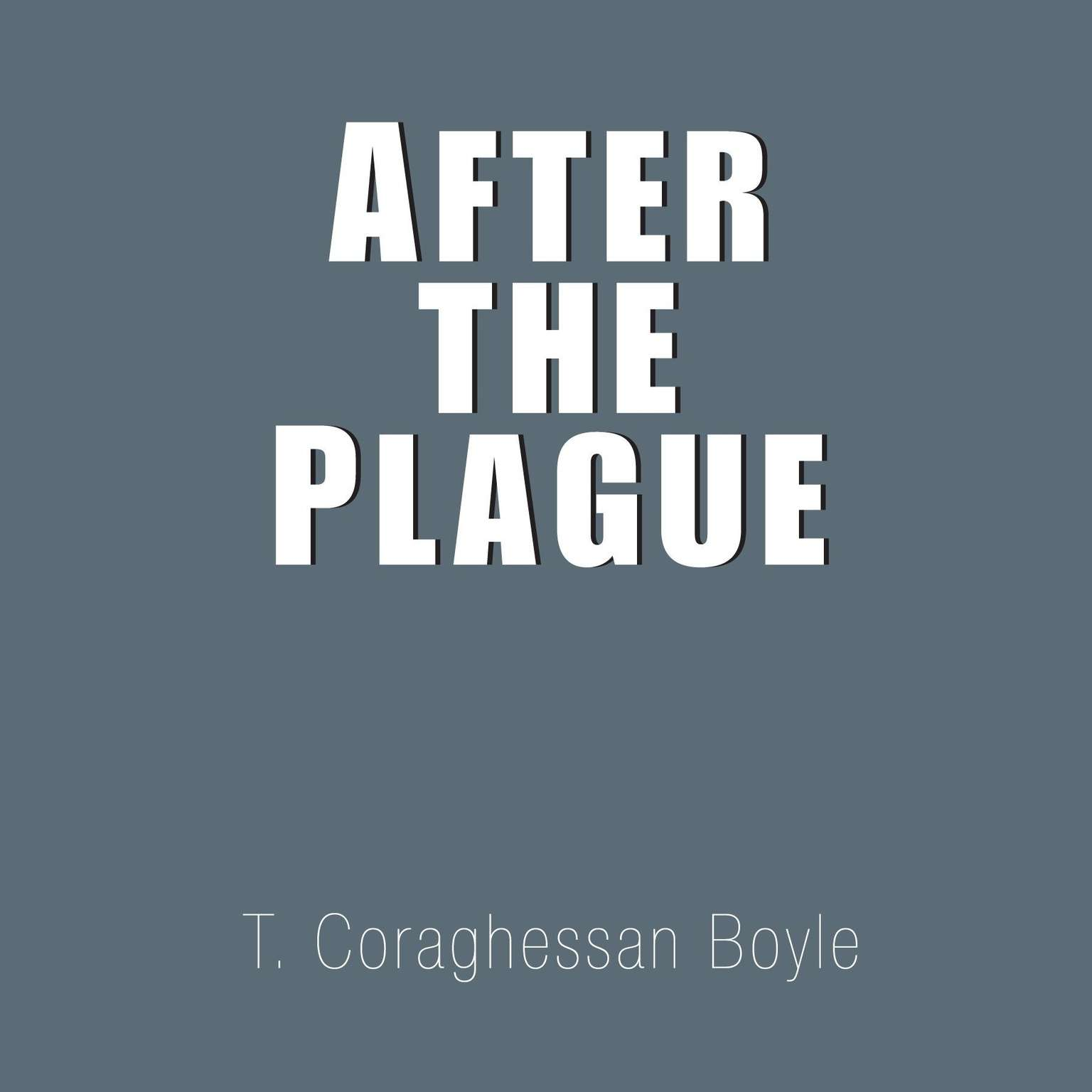 Printable After the Plague Audiobook Cover Art