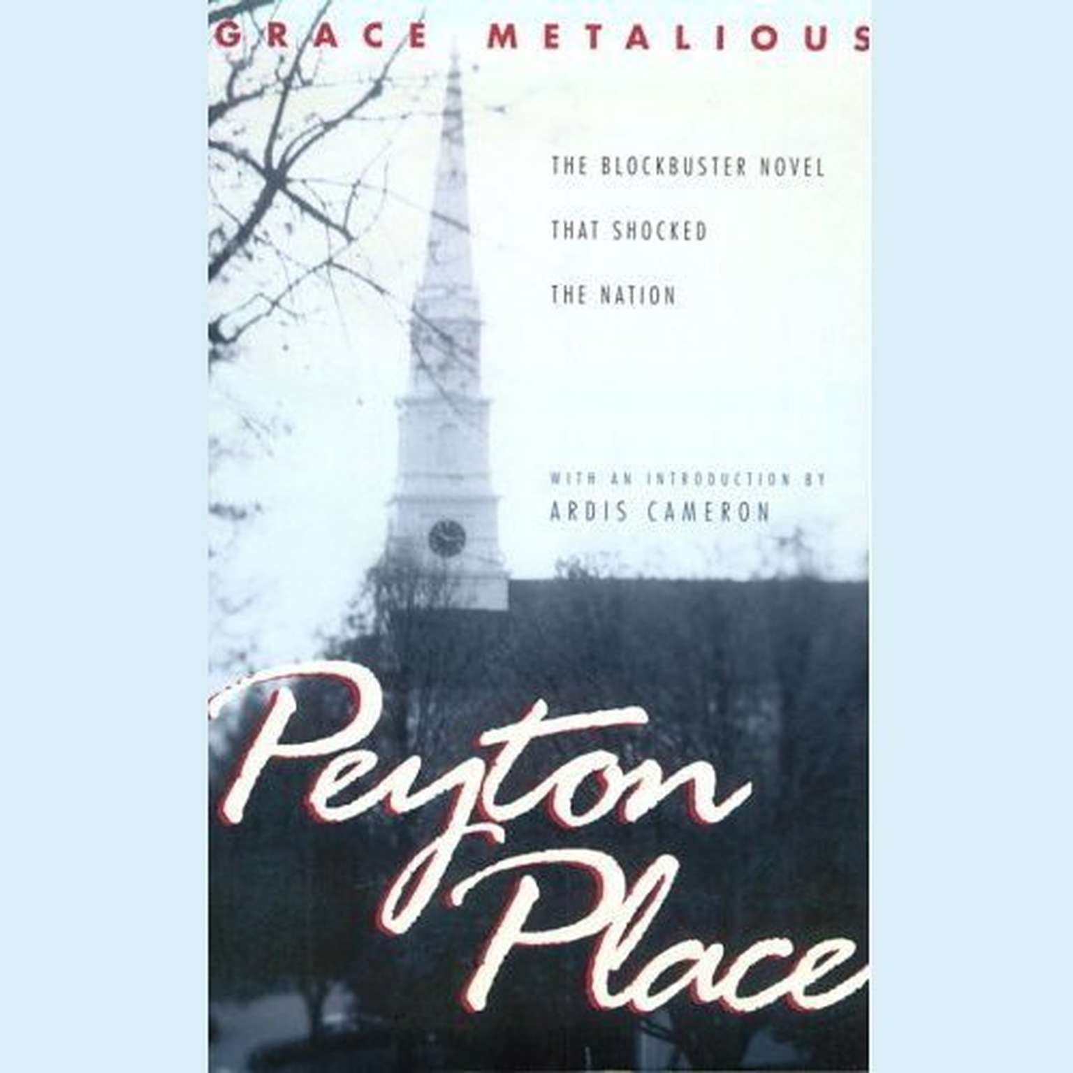 Printable Peyton Place Audiobook Cover Art