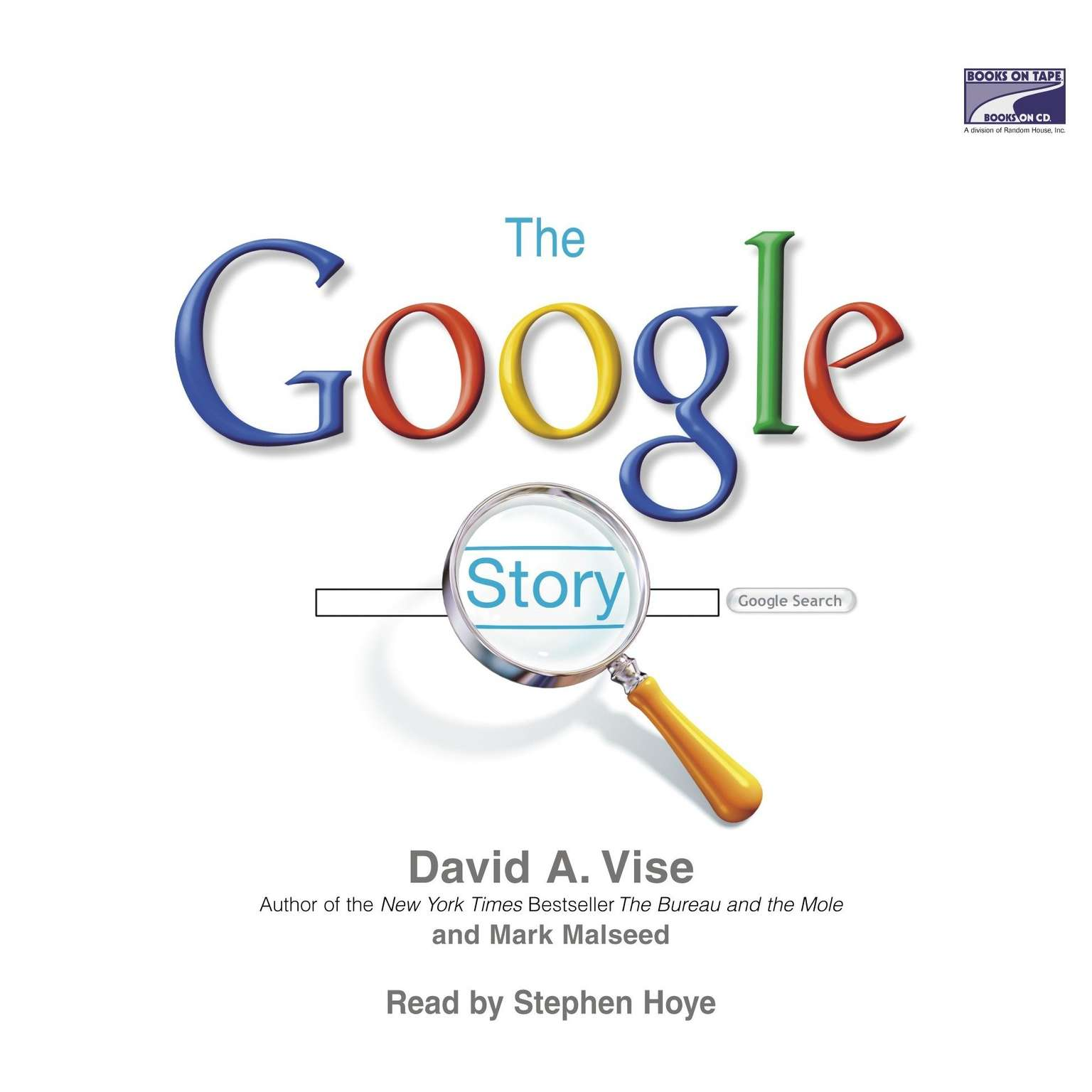 Printable The Google Story Audiobook Cover Art