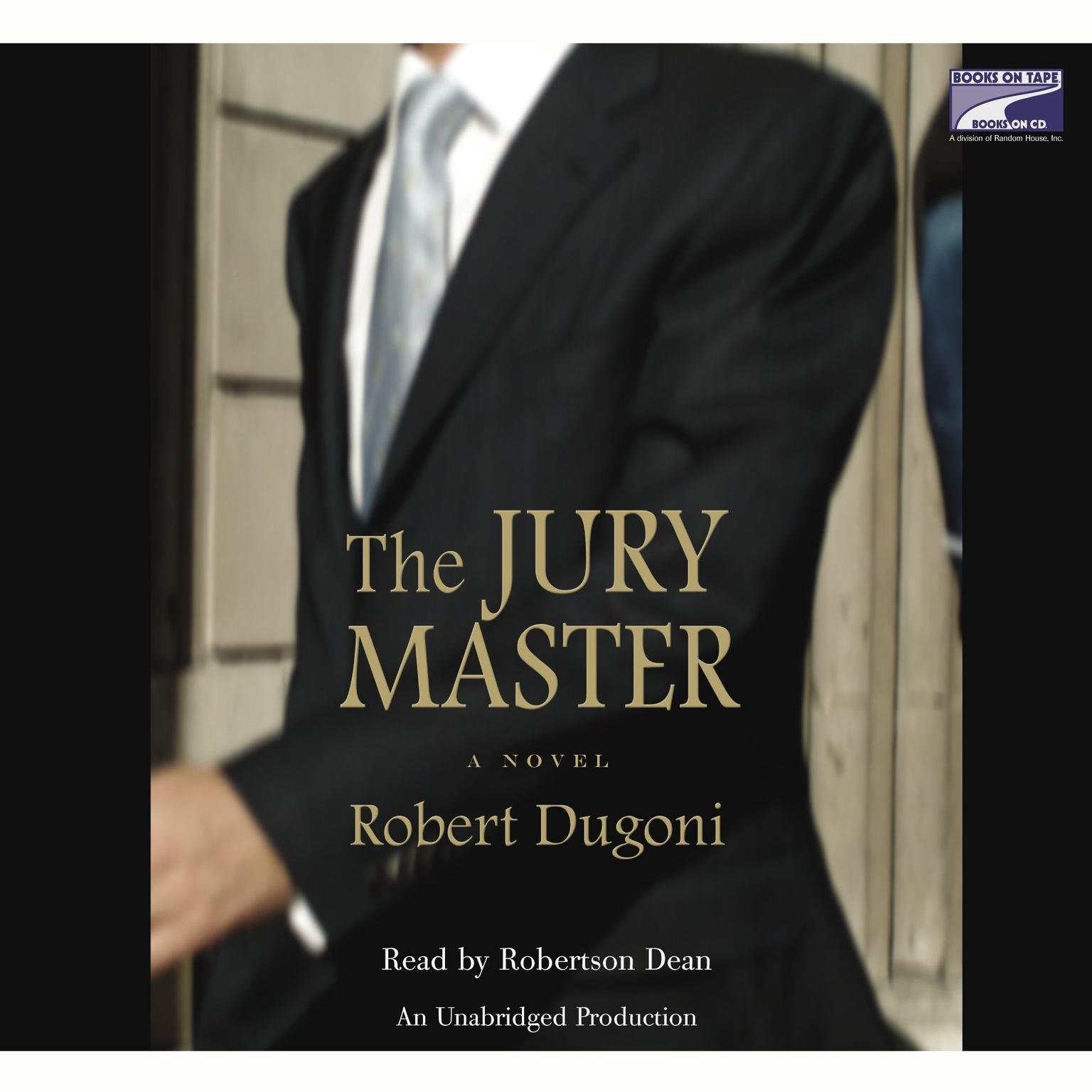Printable The Jury Master Audiobook Cover Art