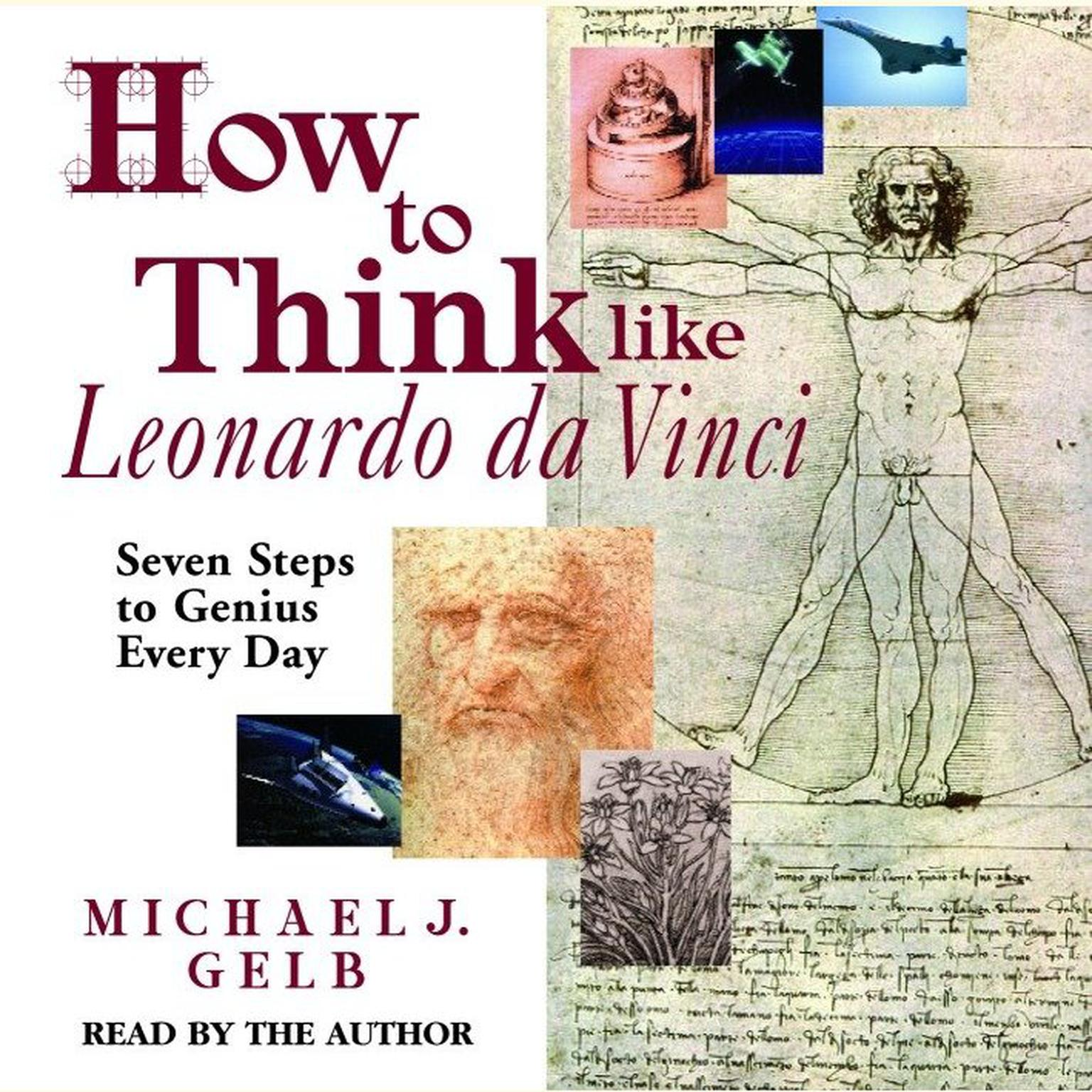 Printable How to Think Like Leonardo da Vinci: Seven Steps to Genius Every Day Audiobook Cover Art