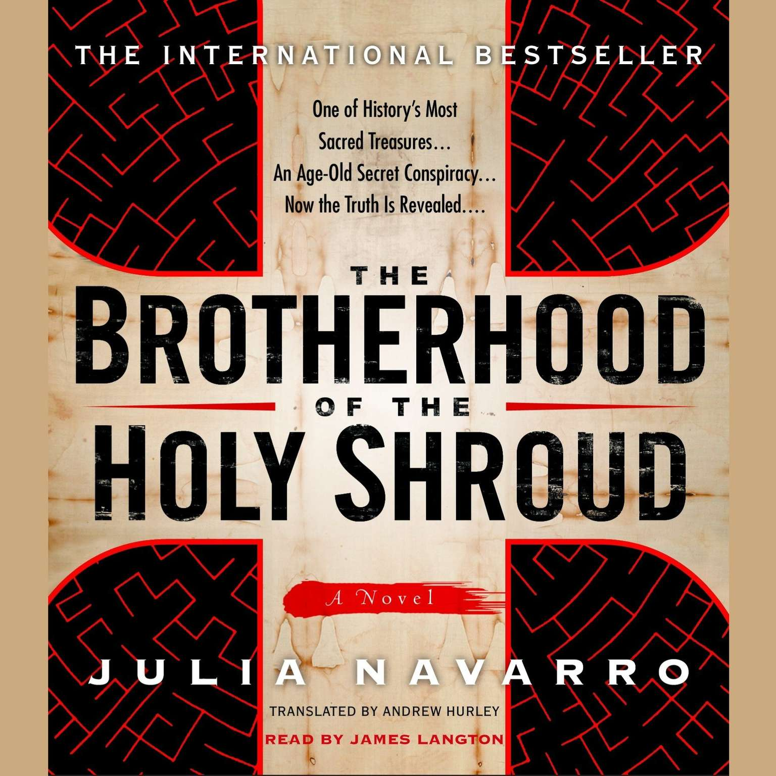 Printable The Brotherhood of the Holy Shroud Audiobook Cover Art