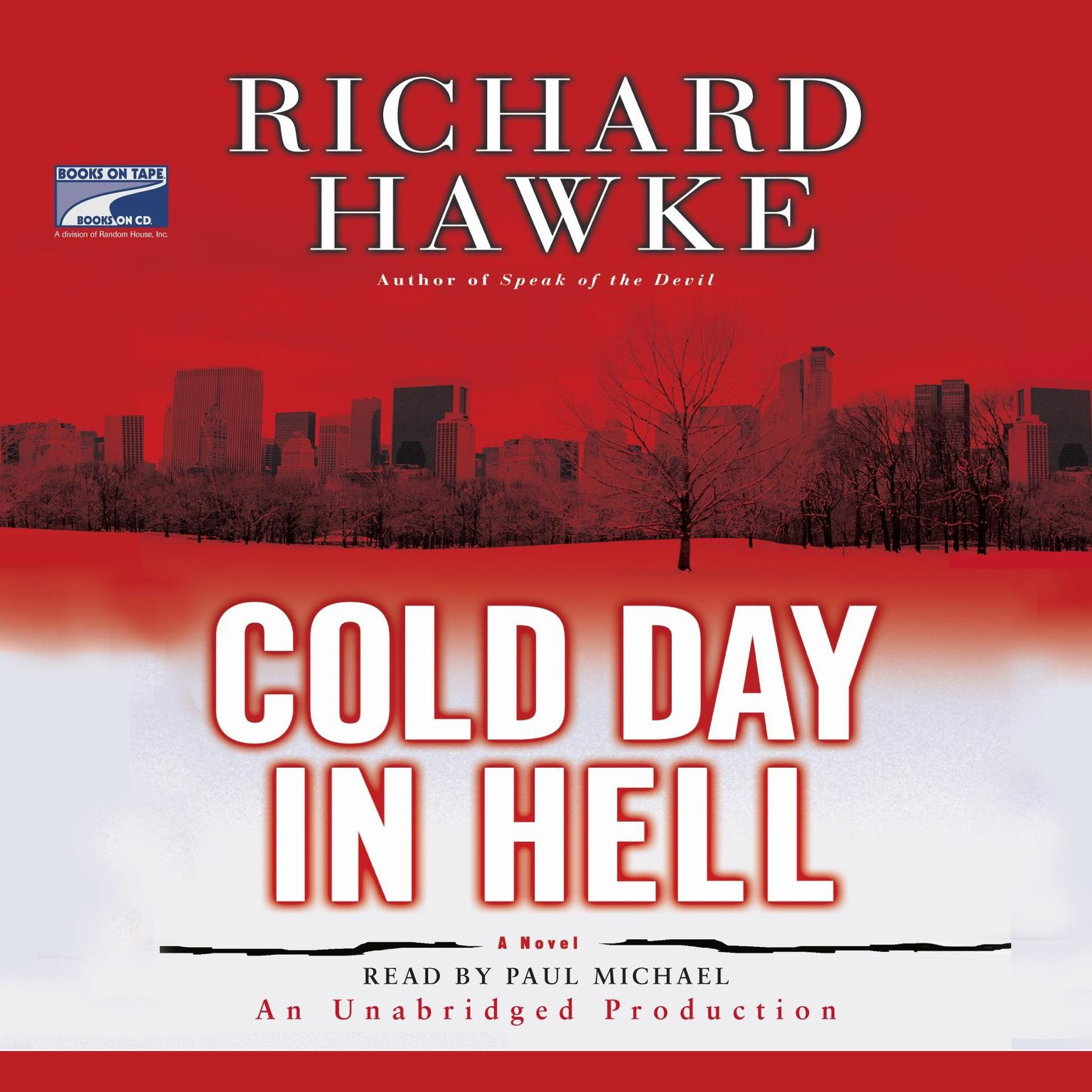 Printable Cold Day in Hell: A Novel Audiobook Cover Art
