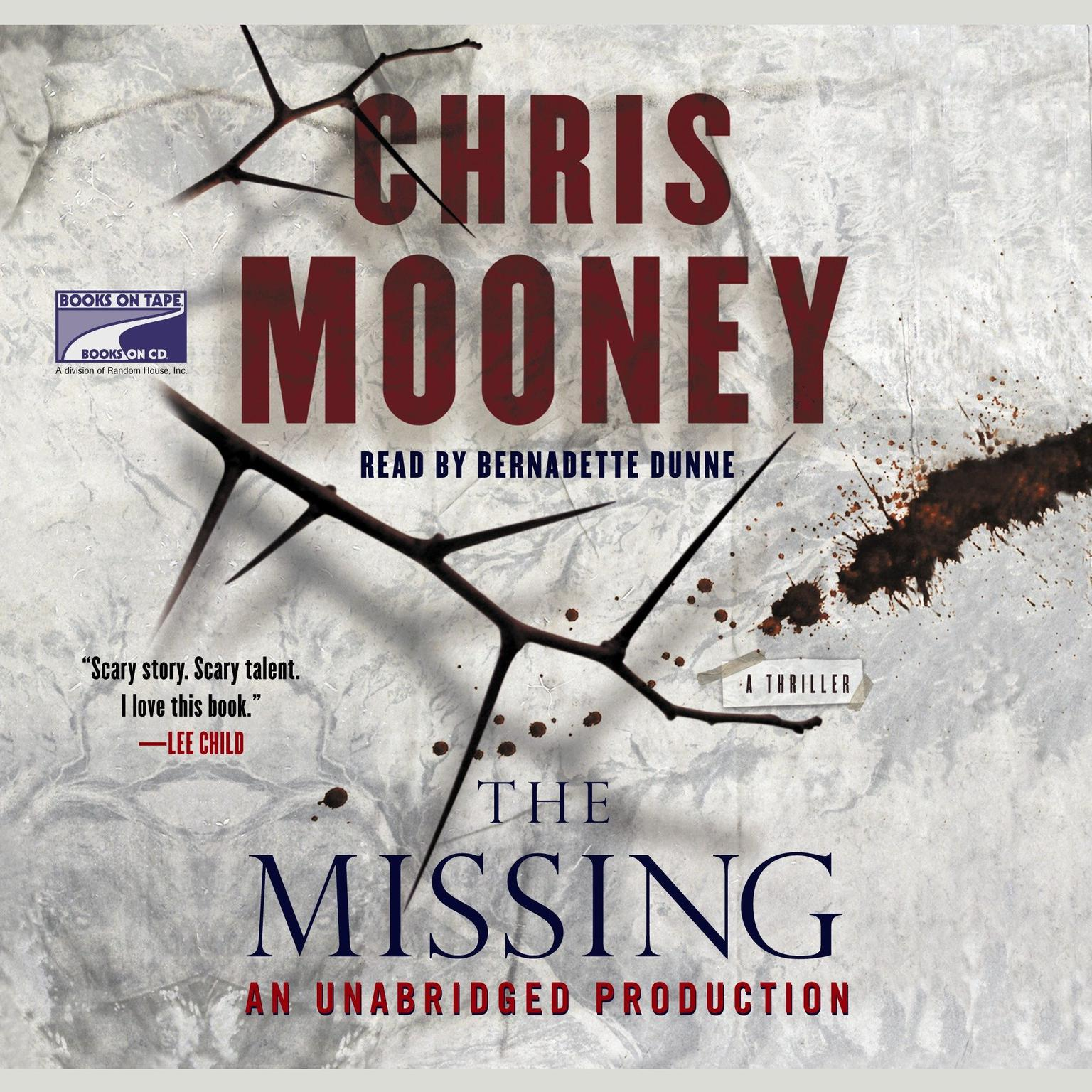 Printable The Missing Audiobook Cover Art