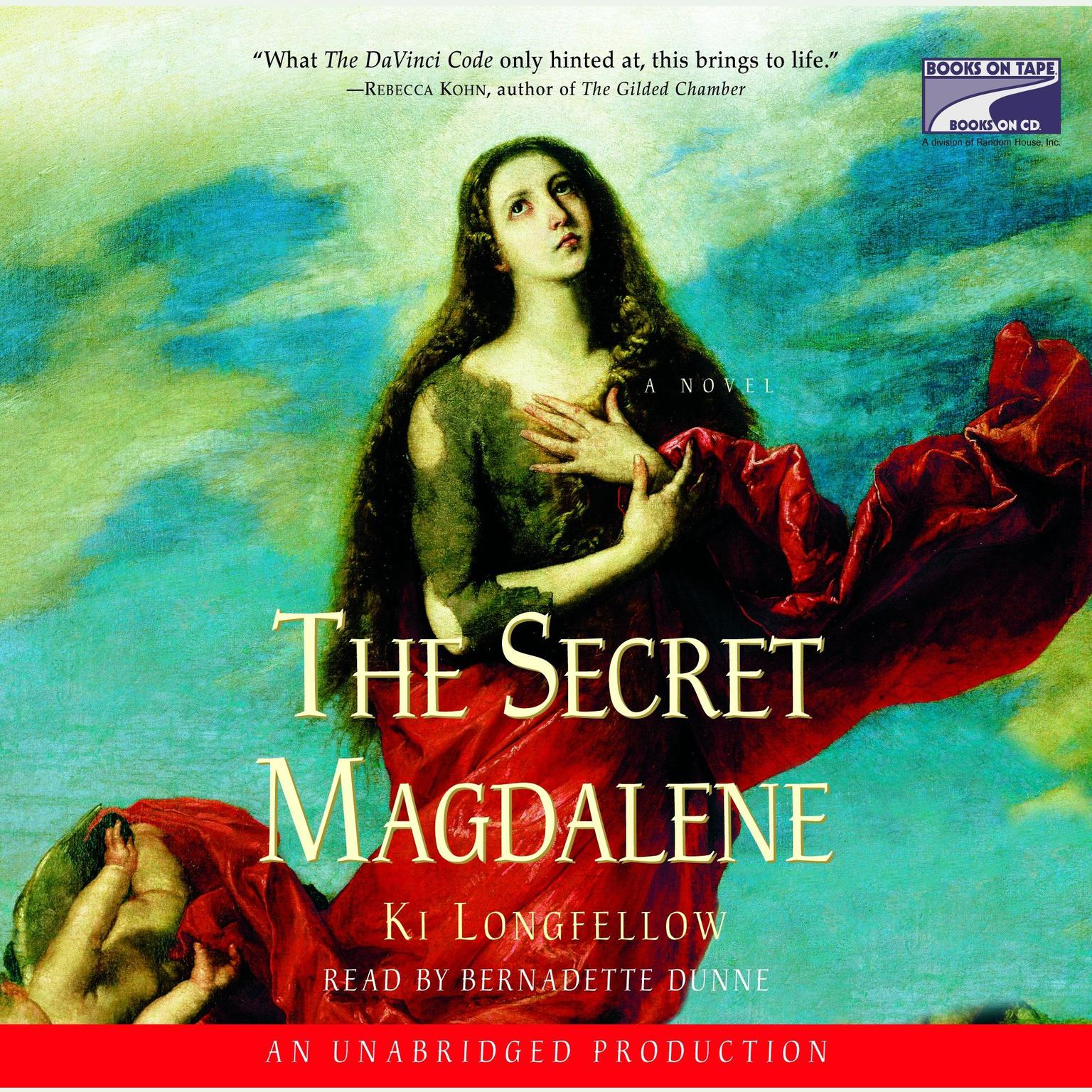 Printable The Secret Magdalene Audiobook Cover Art