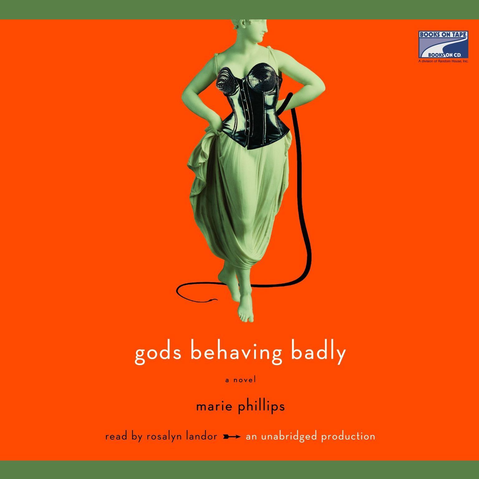 Printable Gods Behaving Badly Audiobook Cover Art
