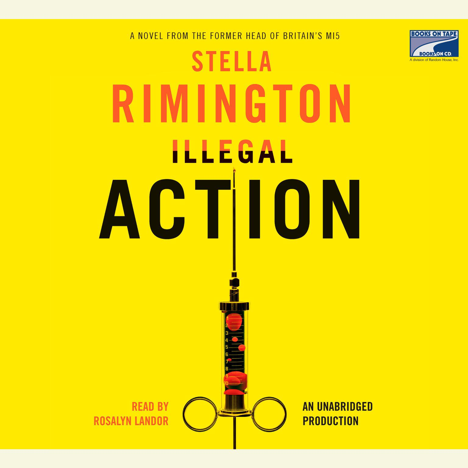 Printable Illegal Action Audiobook Cover Art
