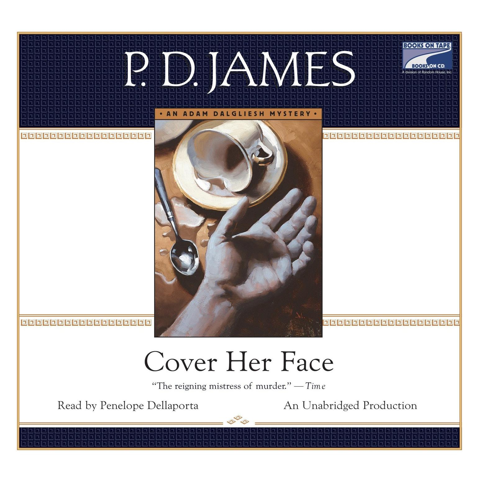 Printable Cover Her Face Audiobook Cover Art