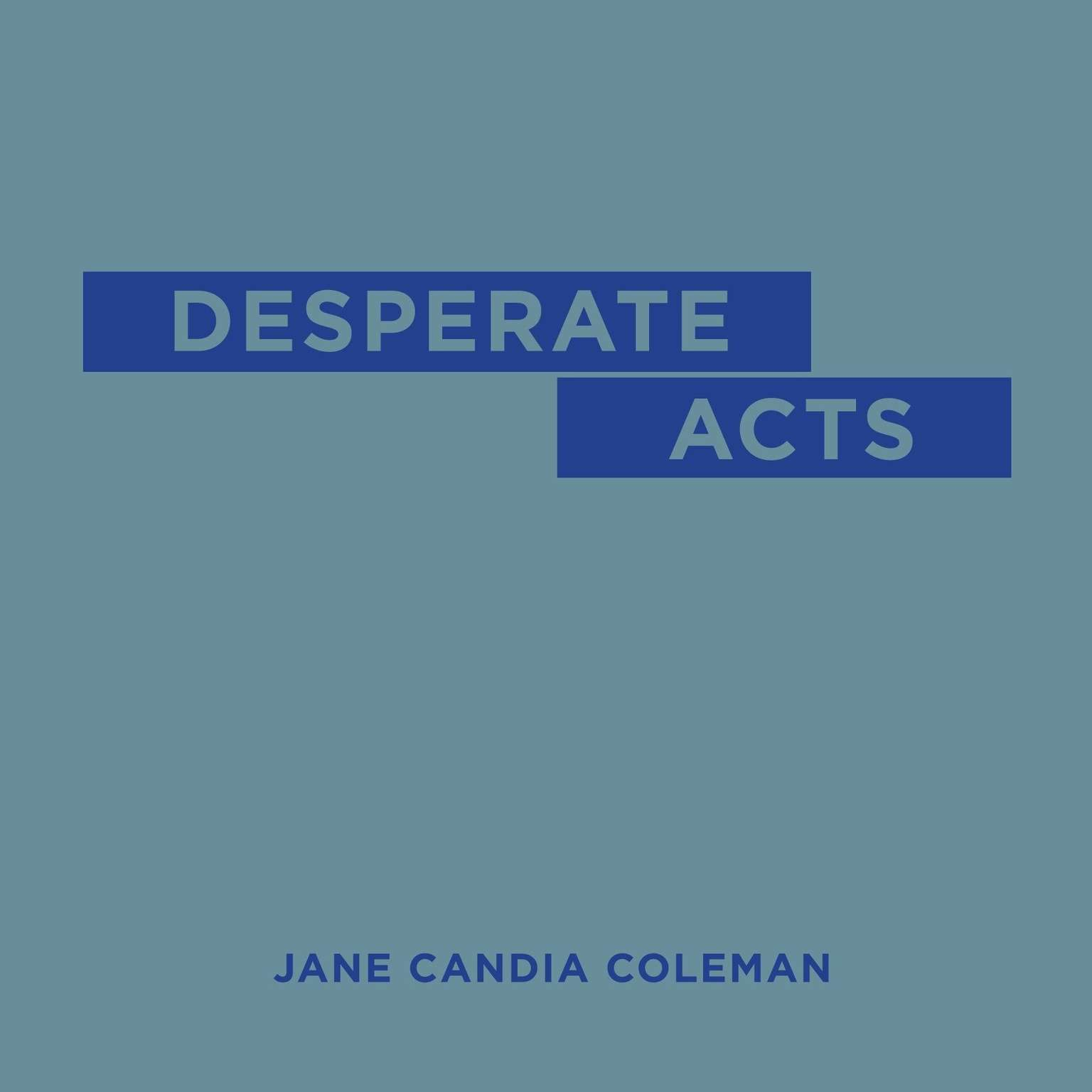 Printable Desperate Acts Audiobook Cover Art