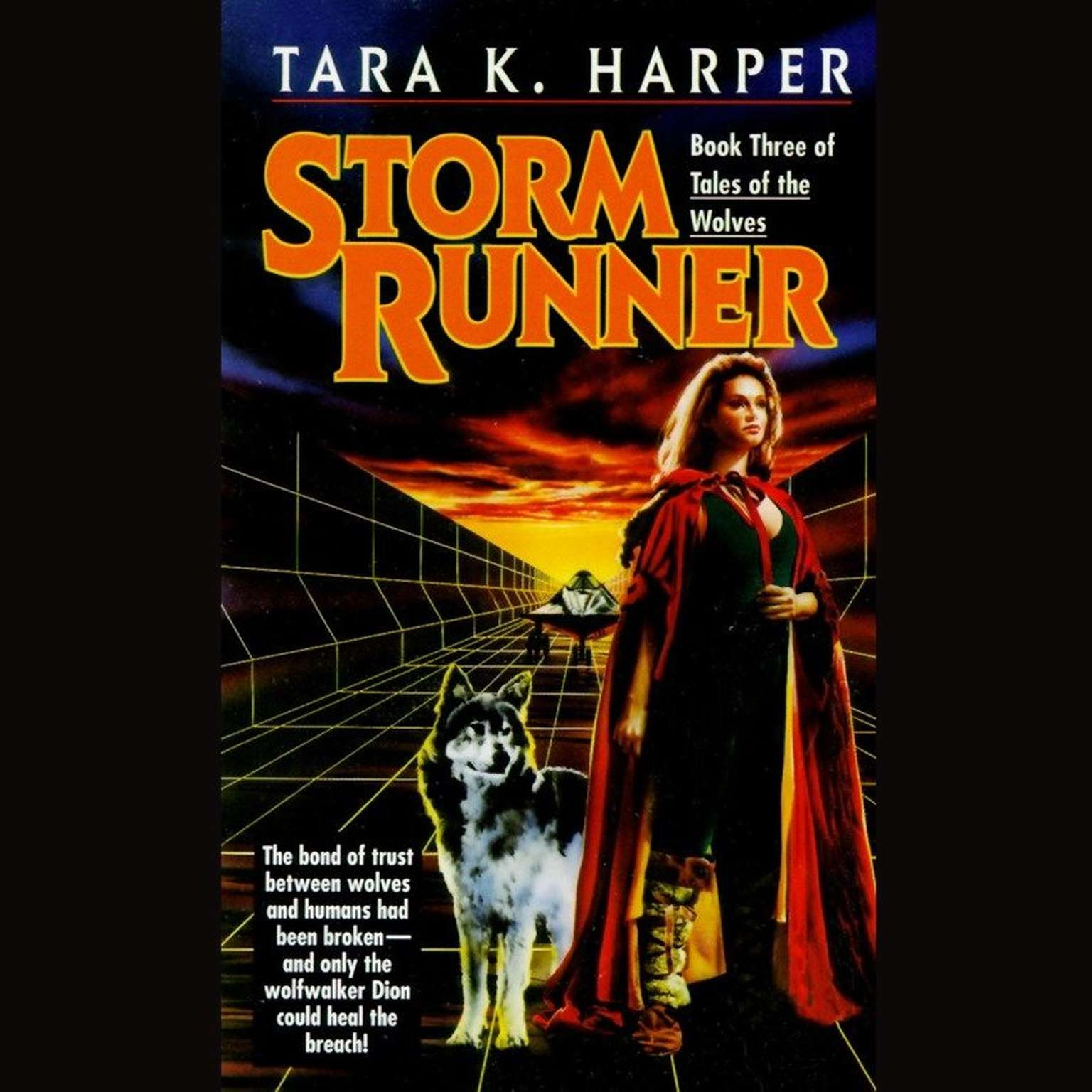 Printable Storm Runner Audiobook Cover Art