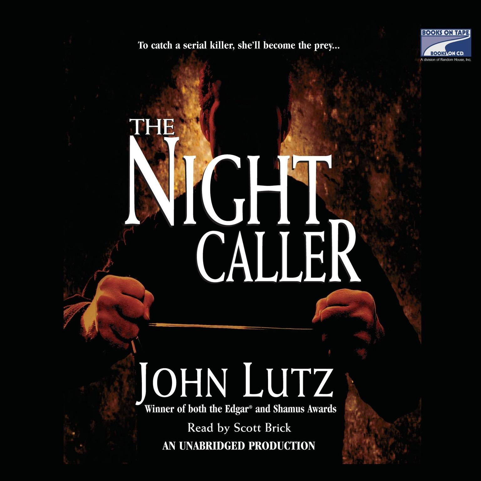 Printable The Night Caller Audiobook Cover Art
