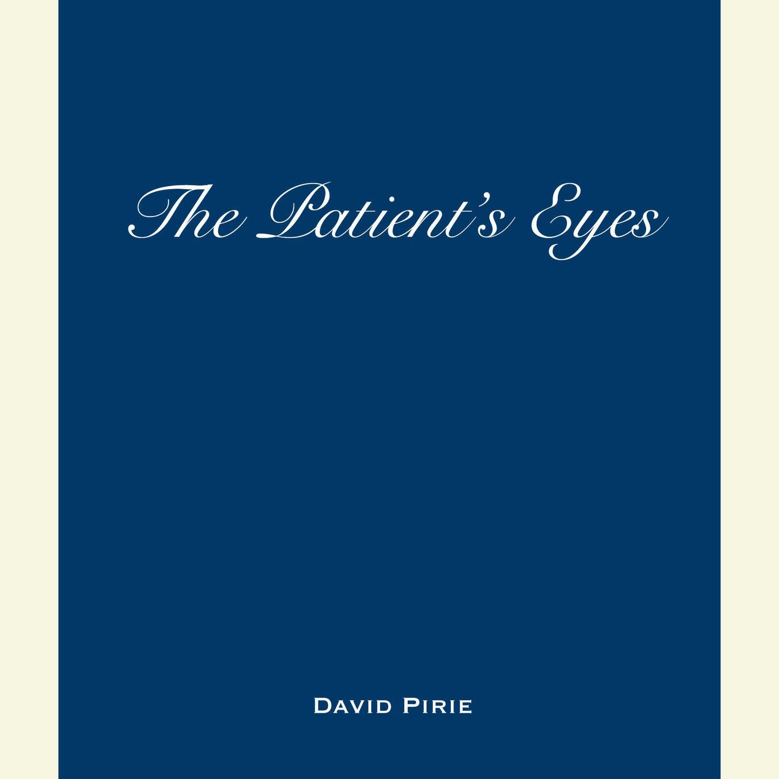 Printable The Patient's Eyes: The Dark Beginnings of Sherlock Holmes Audiobook Cover Art