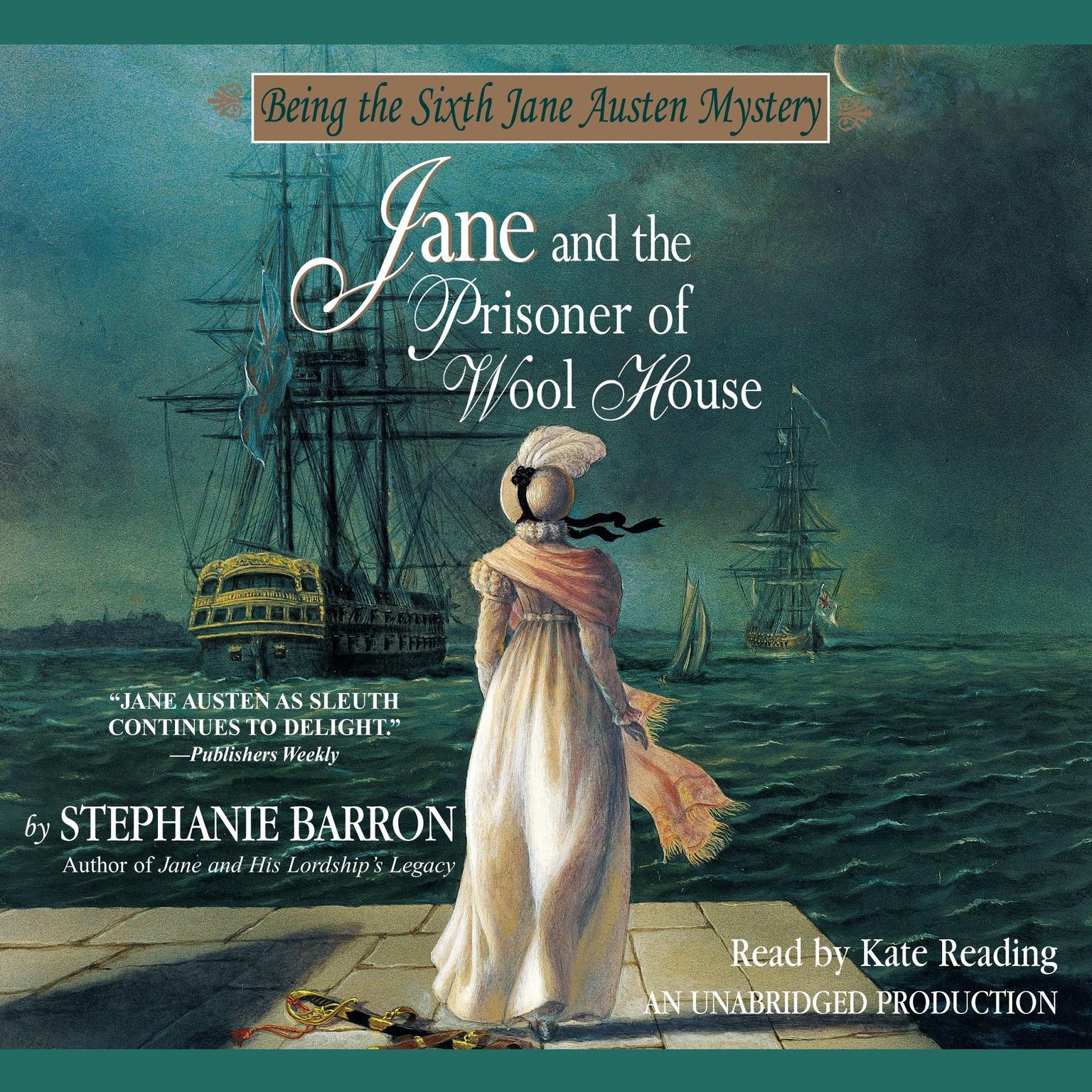 Printable Jane and the Prisoner of Wool House Audiobook Cover Art
