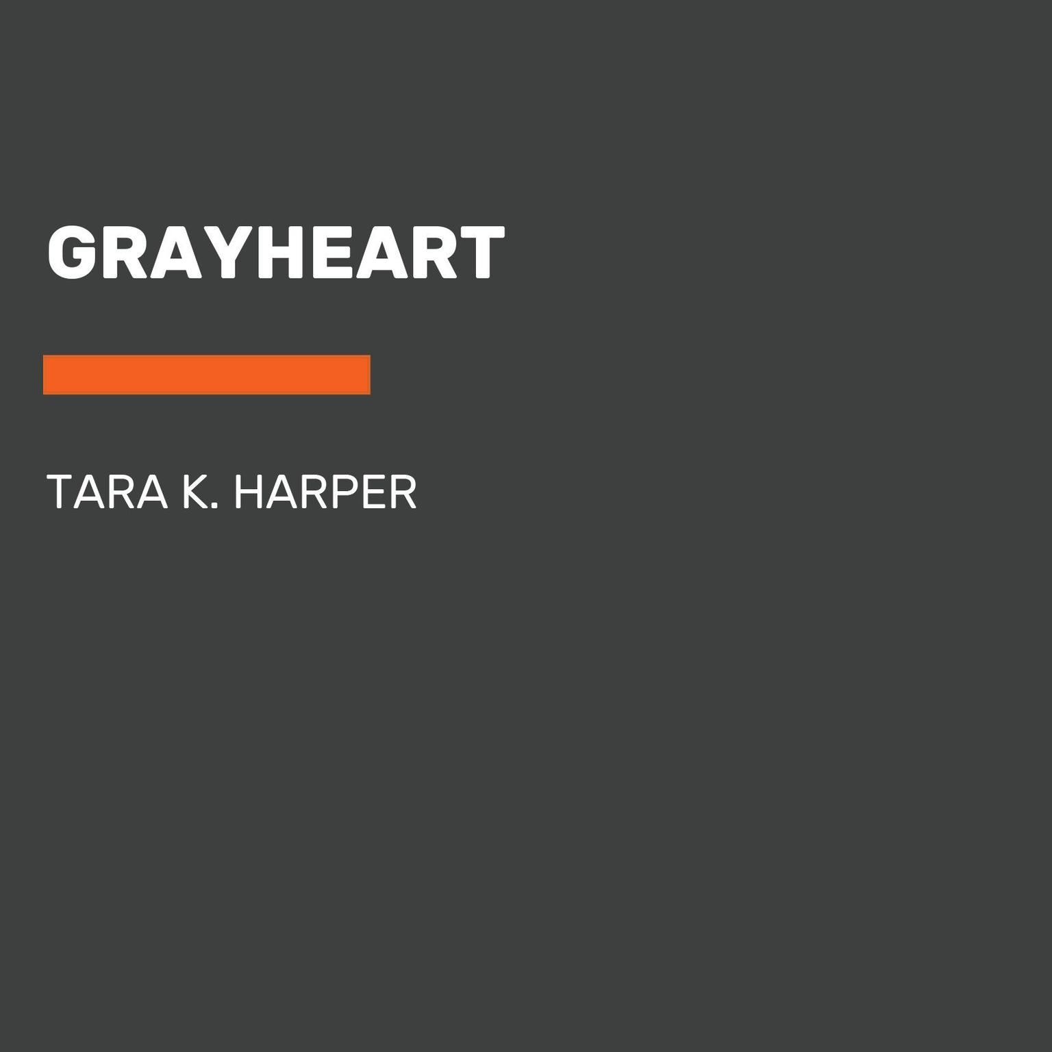 Printable Grayheart Audiobook Cover Art