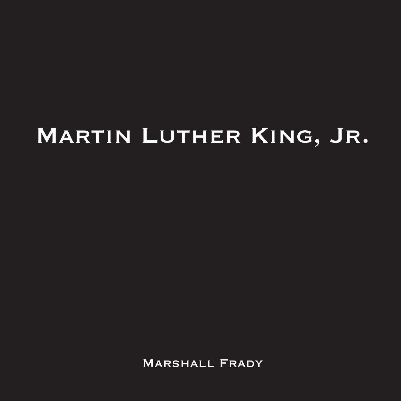 Printable Martin Luther King, Jr. Audiobook Cover Art