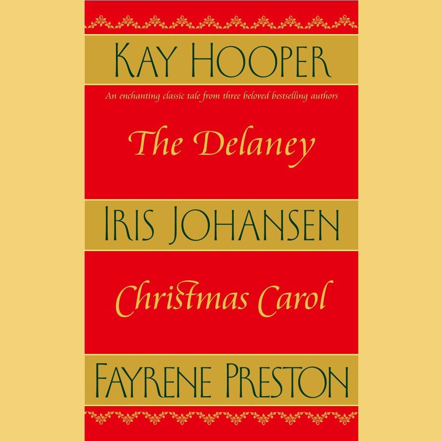 Printable The Delaney Christmas Carol Audiobook Cover Art