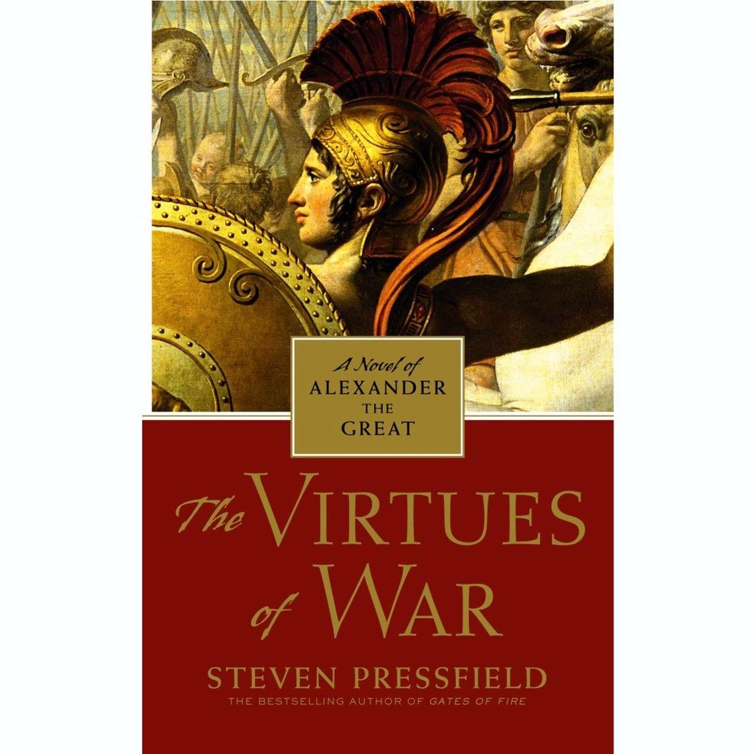 Printable The Virtues of War: A Novel of Alexander the Great Audiobook Cover Art