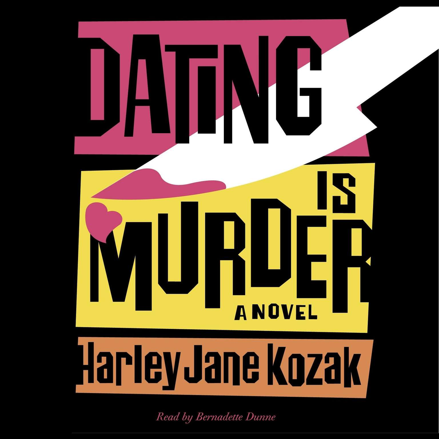 Printable Dating Is Murder: A Novel Audiobook Cover Art