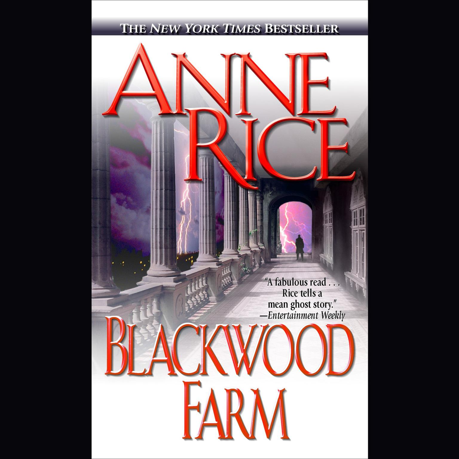 Printable Blackwood Farm: The Vampire Chronicles Audiobook Cover Art
