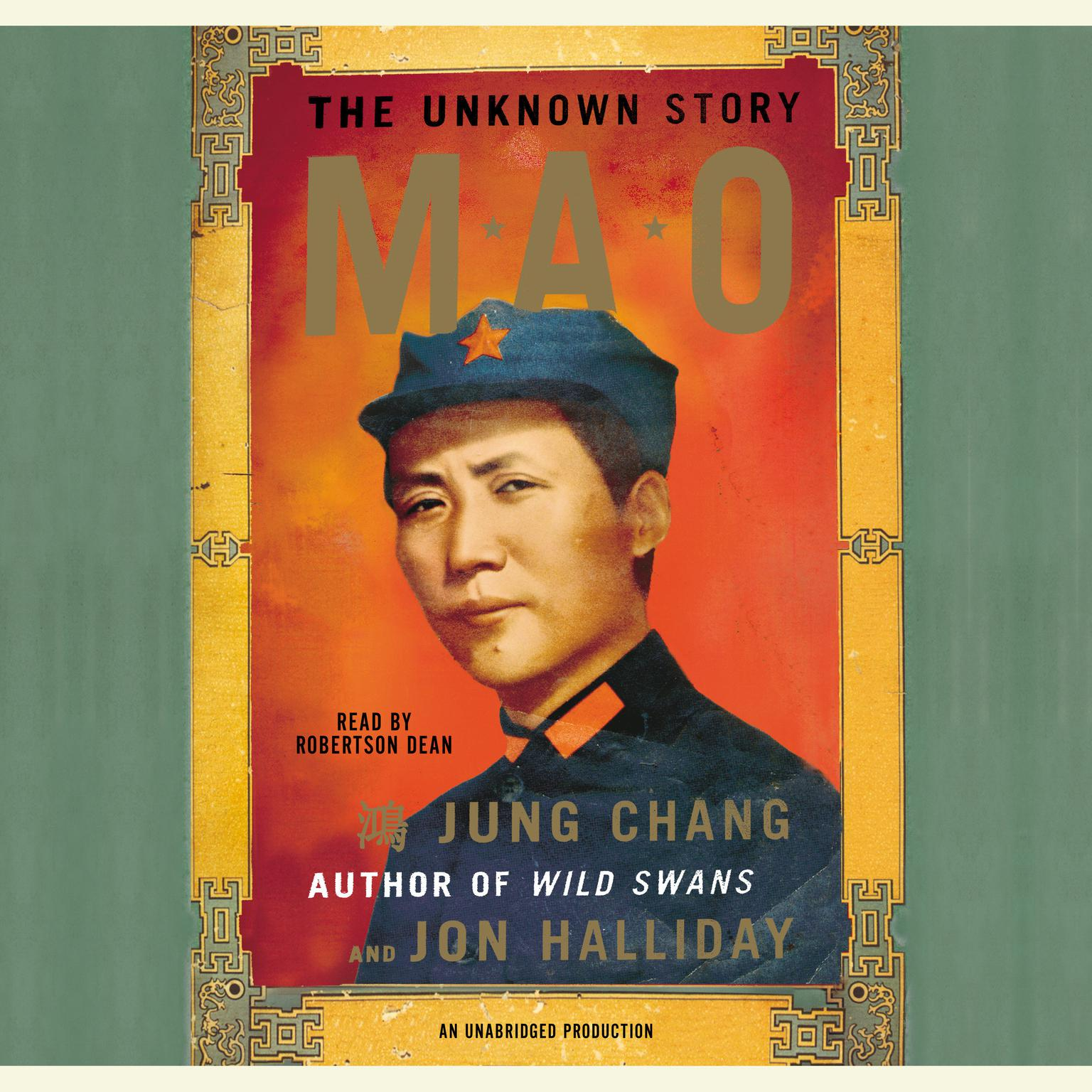 Printable Mao: The Unknown Story Audiobook Cover Art