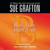 B Is For Burglar, by Sue Grafton