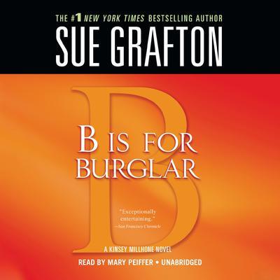 B Is for Burglar Audiobook, by Sue Grafton