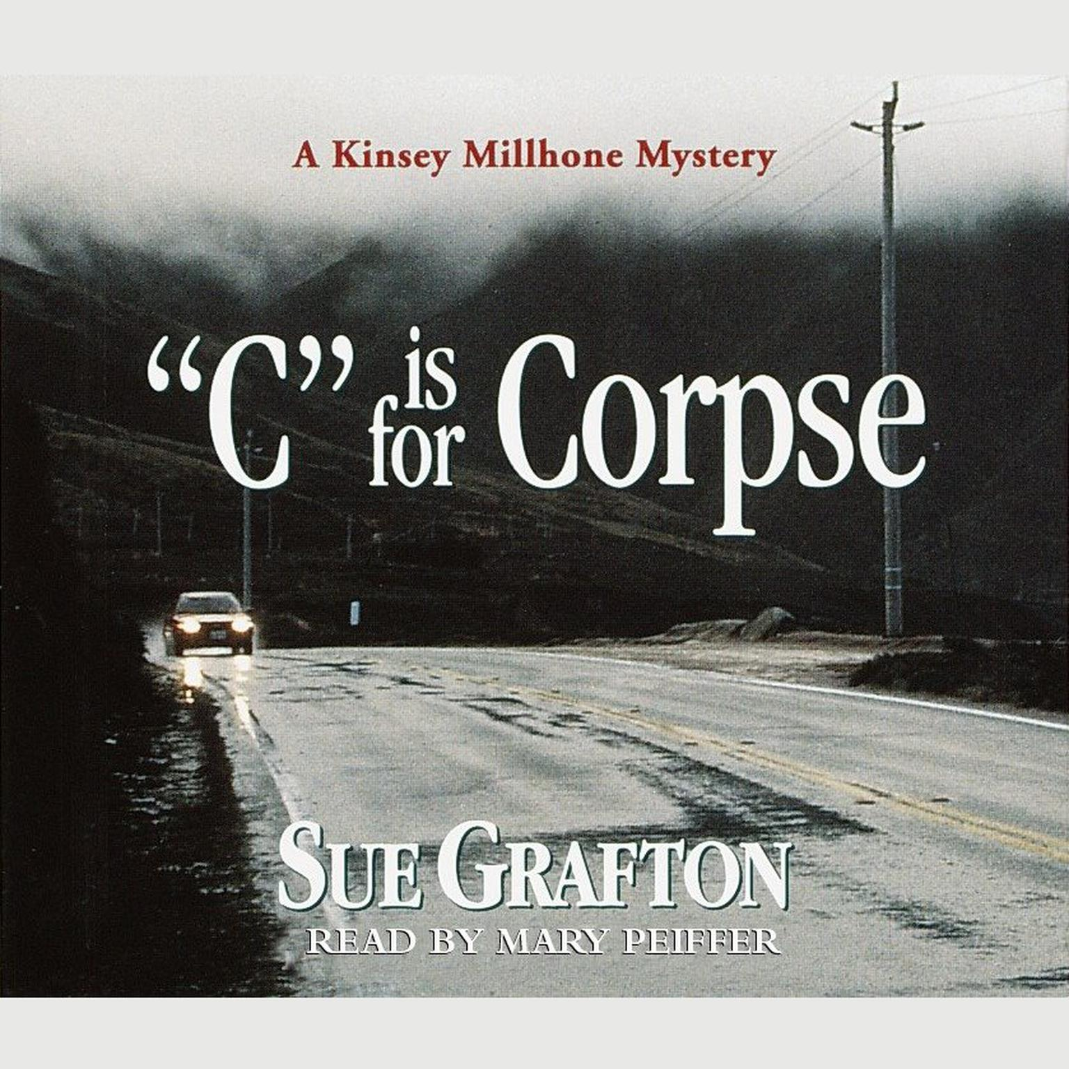 Printable C Is For Corpse Audiobook Cover Art