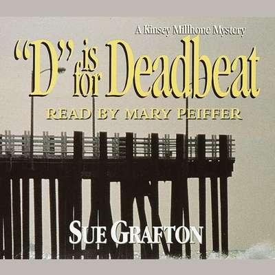 D Is for Deadbeat Audiobook, by