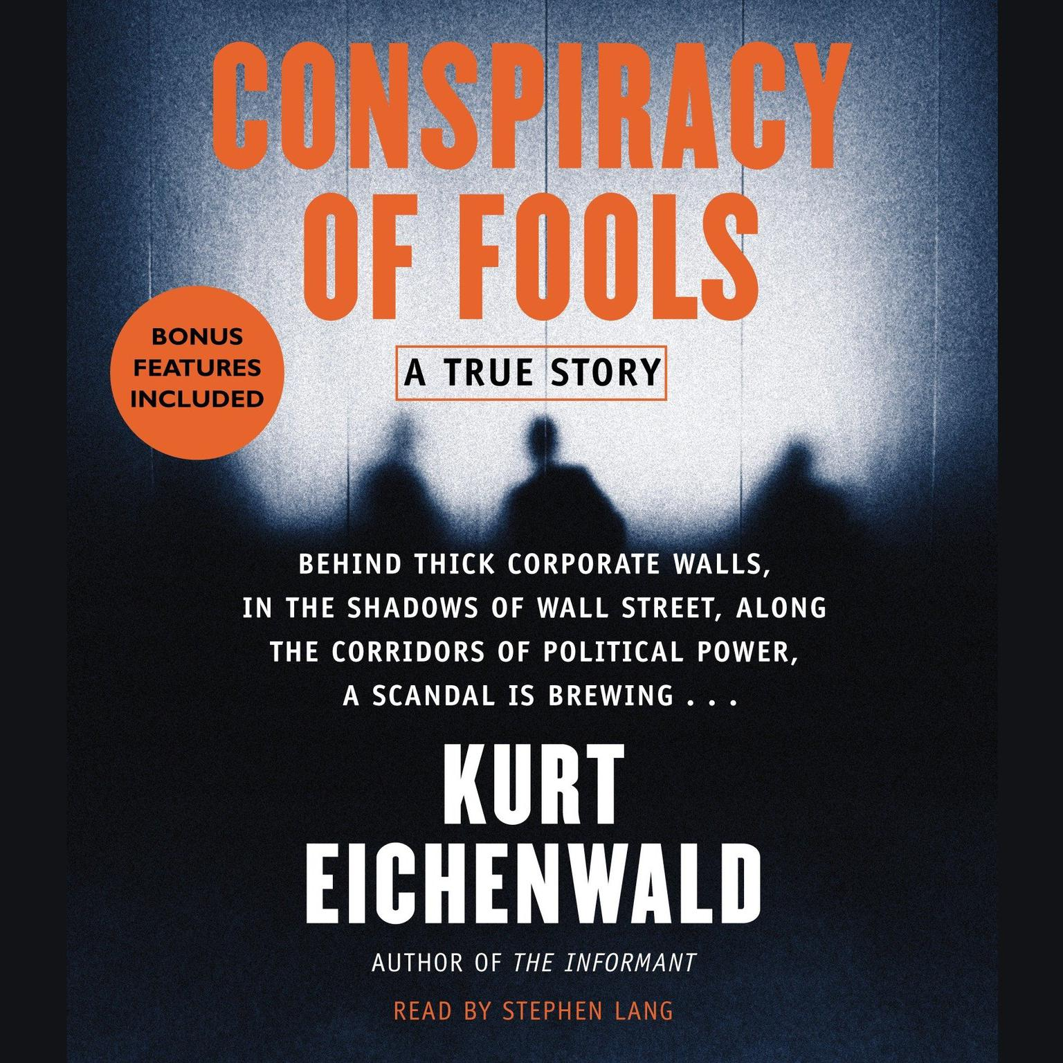 Printable Conspiracy of Fools: A True Story Audiobook Cover Art